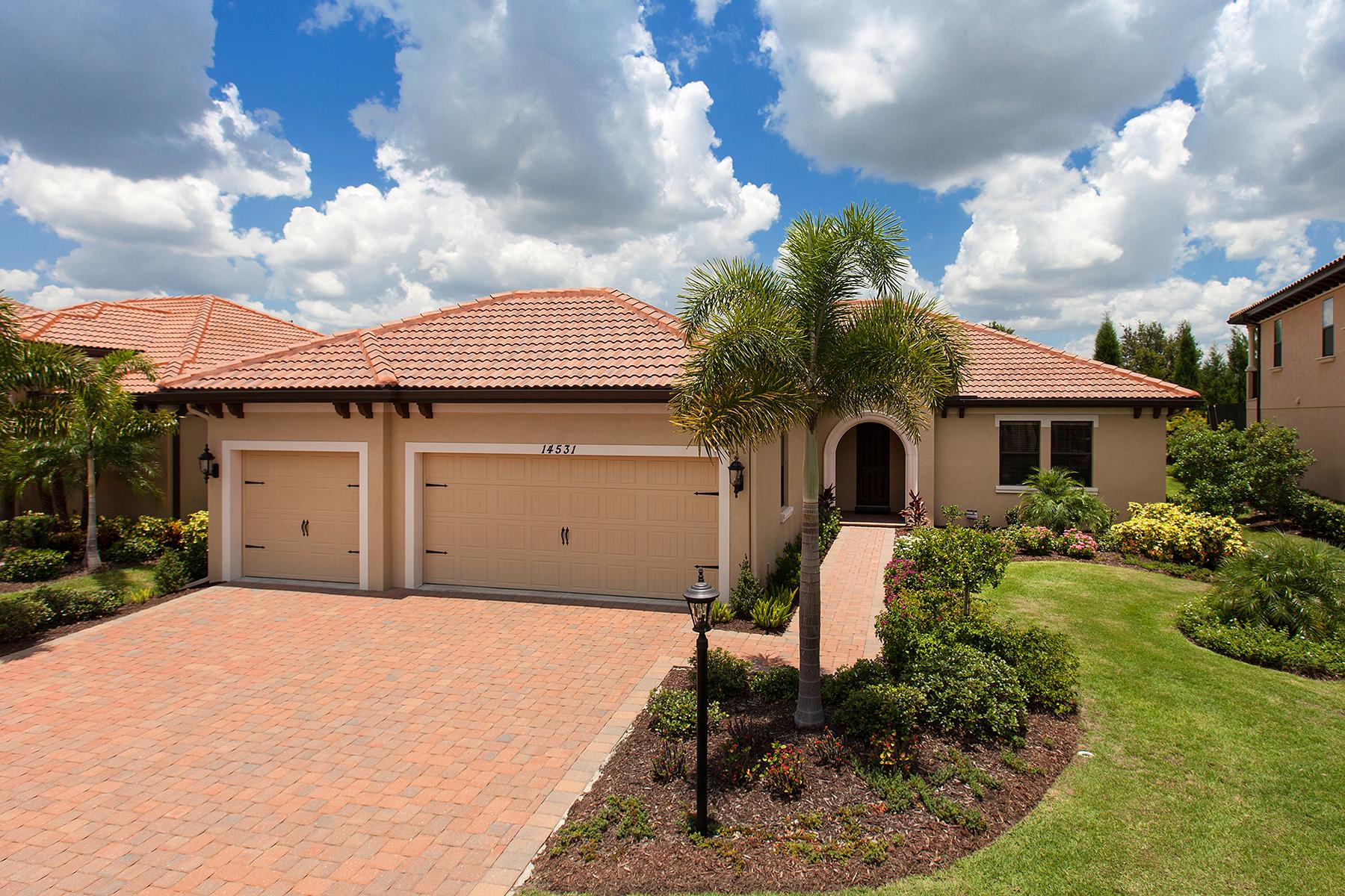 단독 가정 주택 용 매매 에 COUNTRY CLUB EAST 14531 Secret Harbor Pl Lakewood Ranch, 플로리다 34202 미국