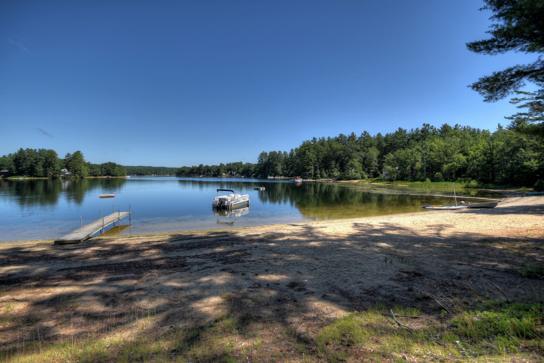 Single Family Home for Sale at Nicely Remodeled Silver Lake Waterfront 105 Gardners Grove Rd Belmont, New Hampshire, 03220 United States