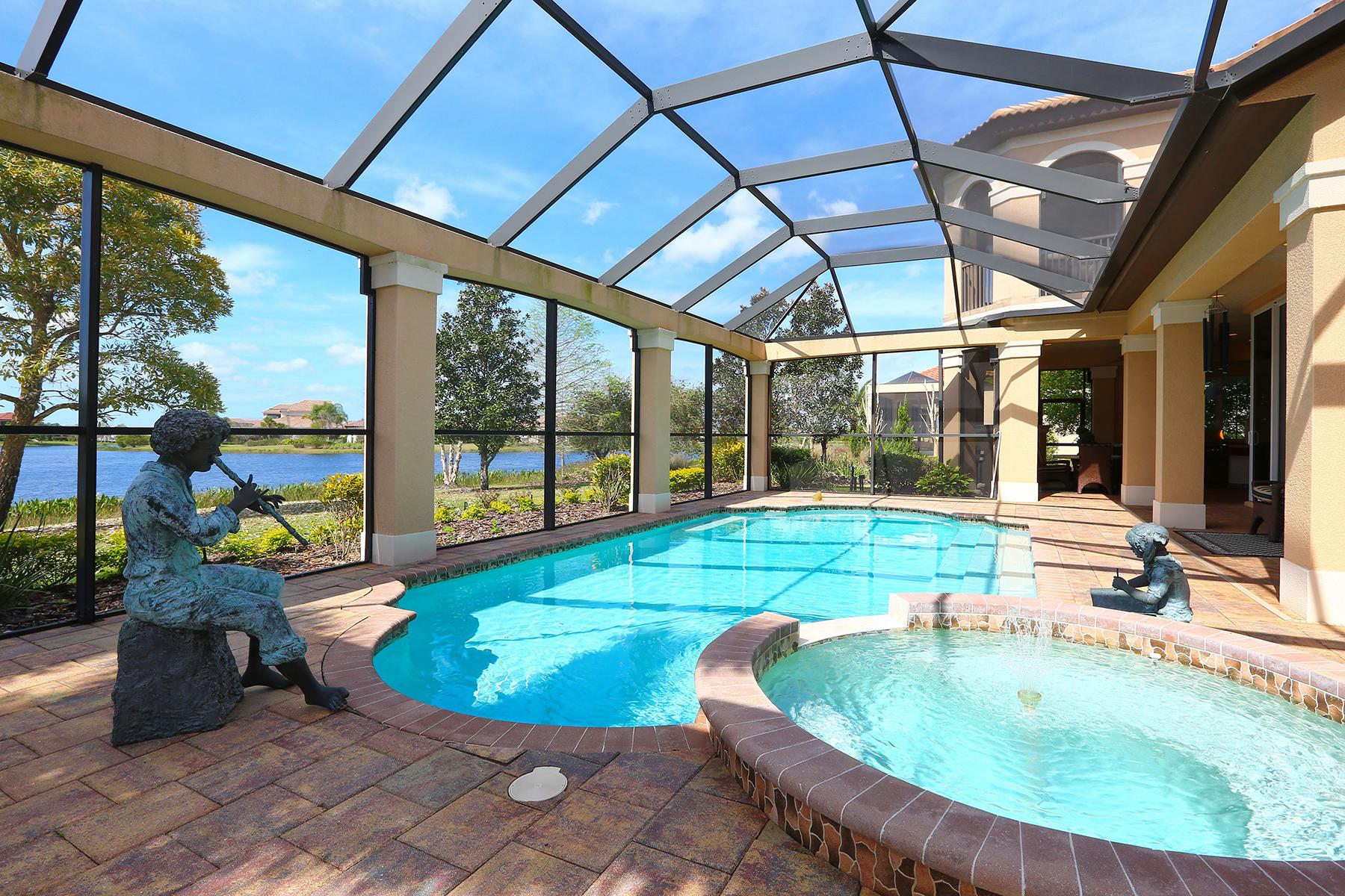 Casa Unifamiliar por un Venta en LAKE CLUB AT LAKEWOOD RANCH 16502 Clearlake Ave Lakewood Ranch, Florida 34202 Estados Unidos