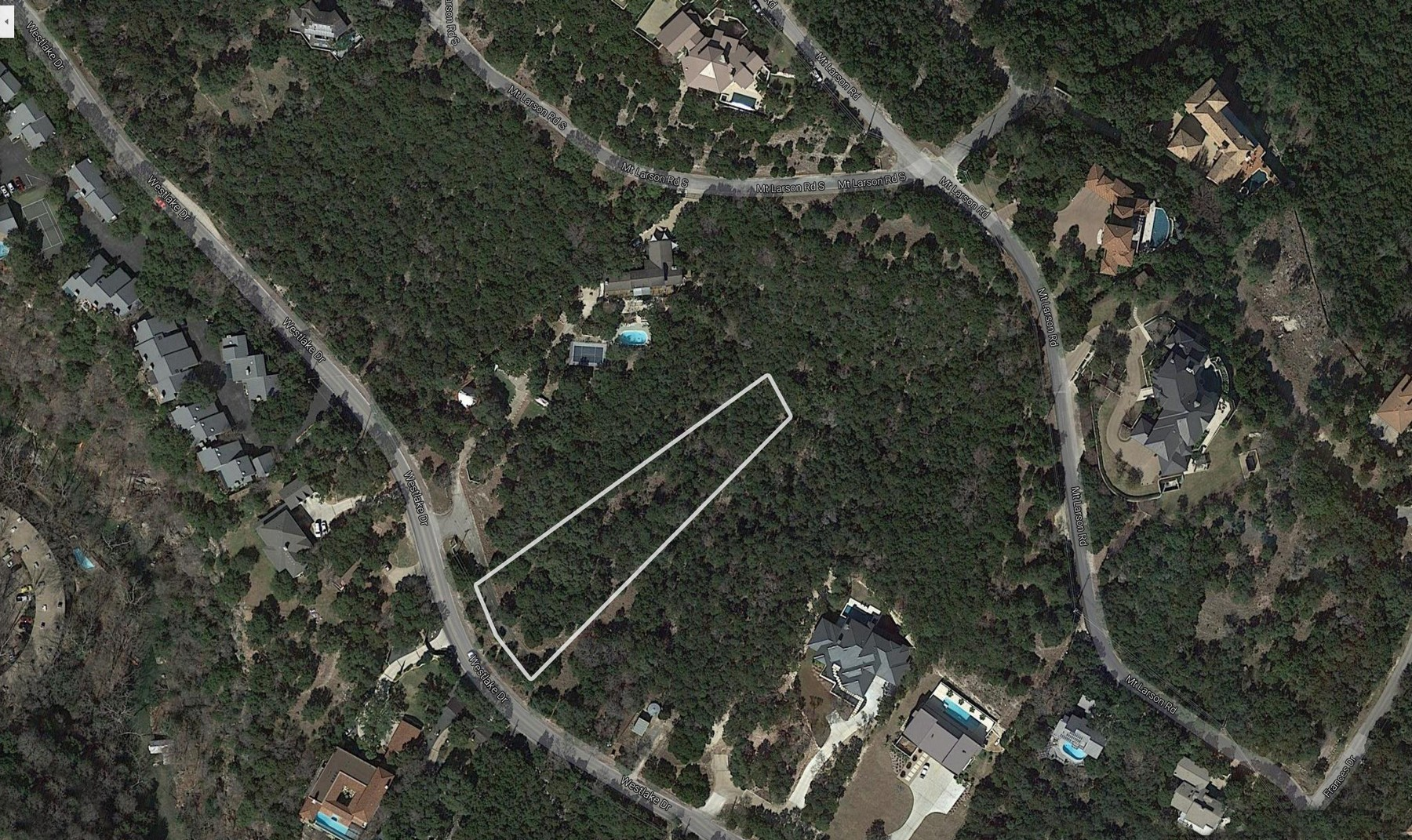 Land for Sale at Build Your Dream Home in Westlake 1858 Westlake Dr Lot 9 Austin, Texas 78746 United States