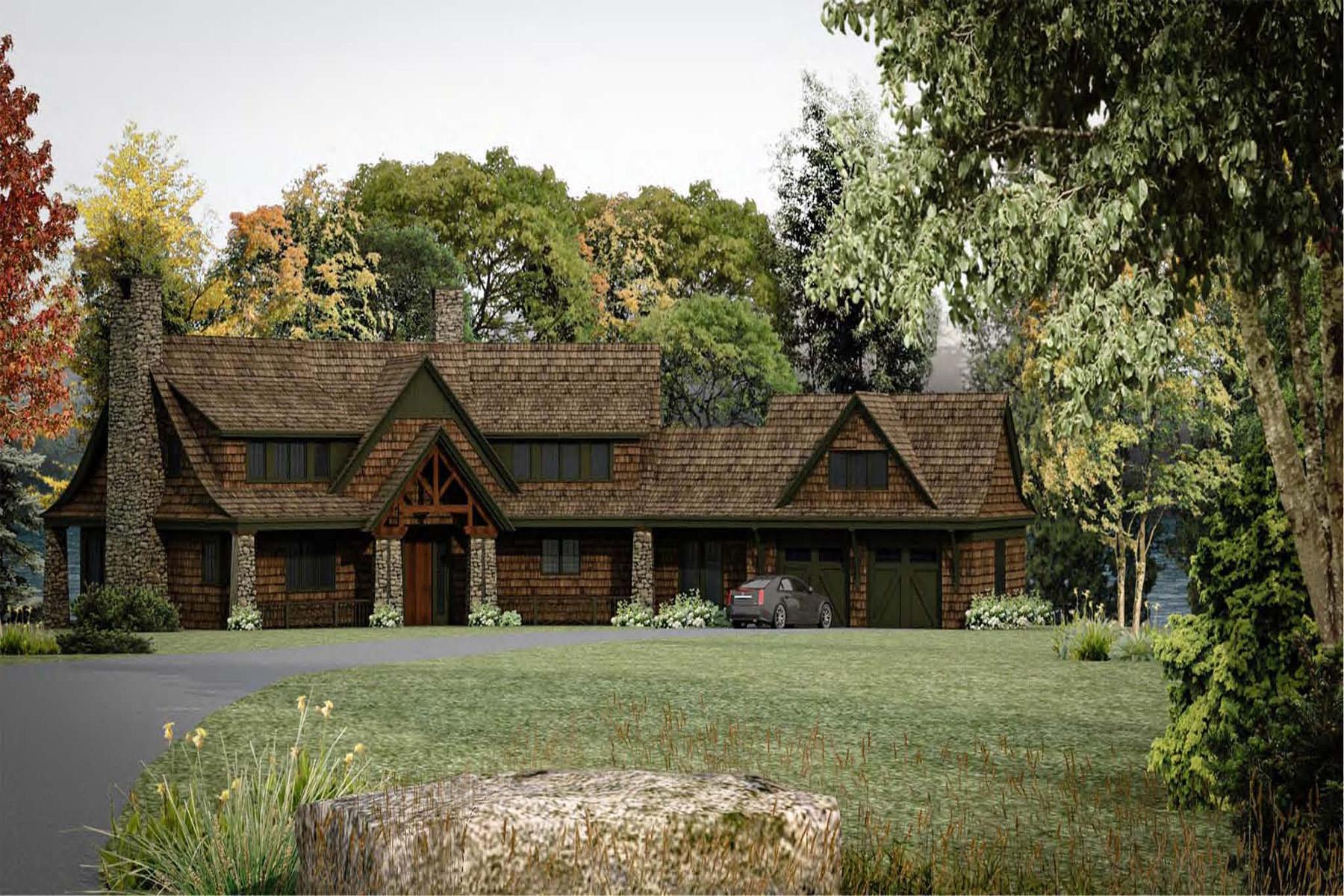 Nhà ở một gia đình vì Bán tại To Be Built Lakefron 26 Garnet Hill Rd Sunapee, New Hampshire 03782 Hoa Kỳ