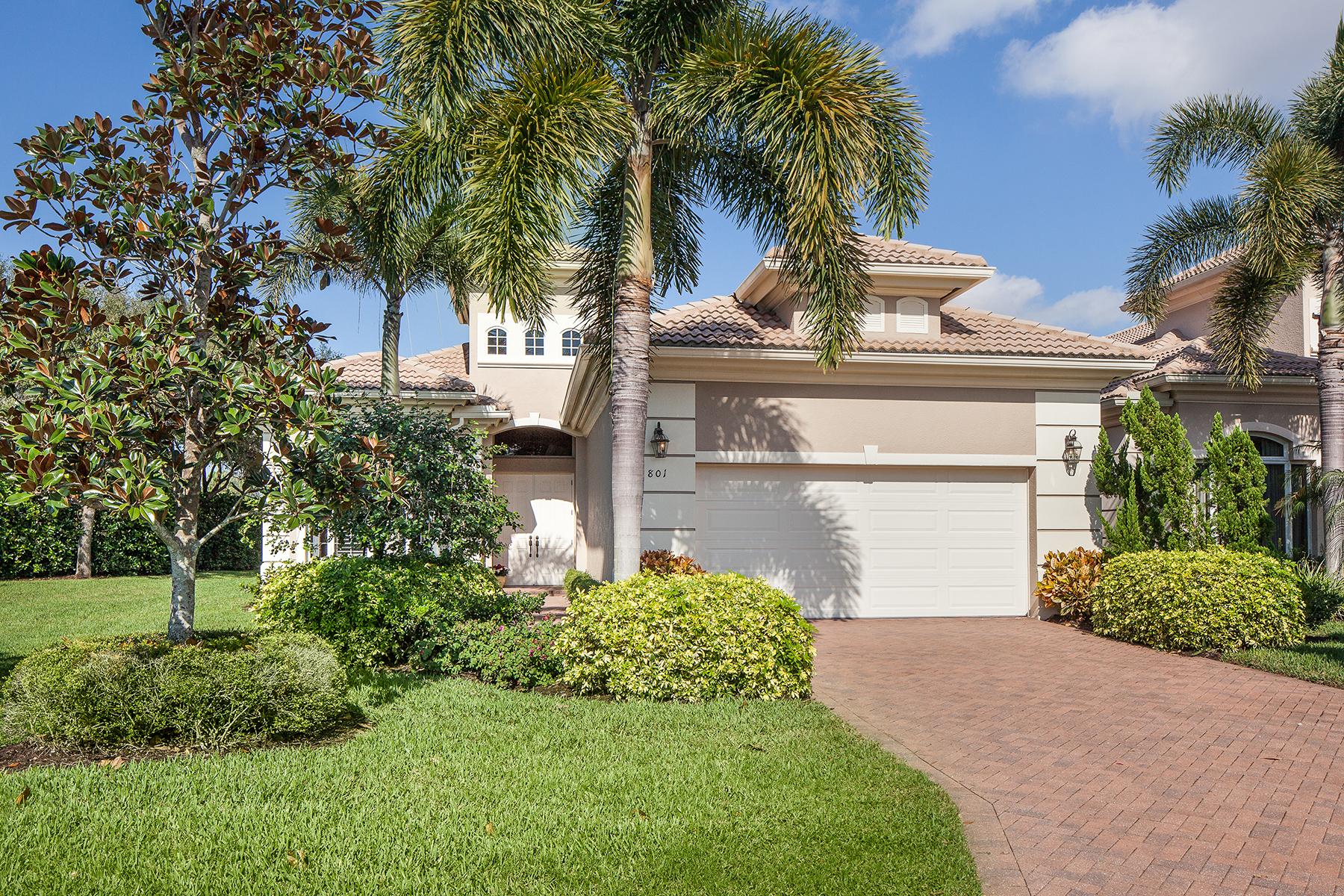 단독 가정 주택 용 매매 에 VINEYARDS 801 Villa Florenza Dr Naples, 플로리다 34119 미국