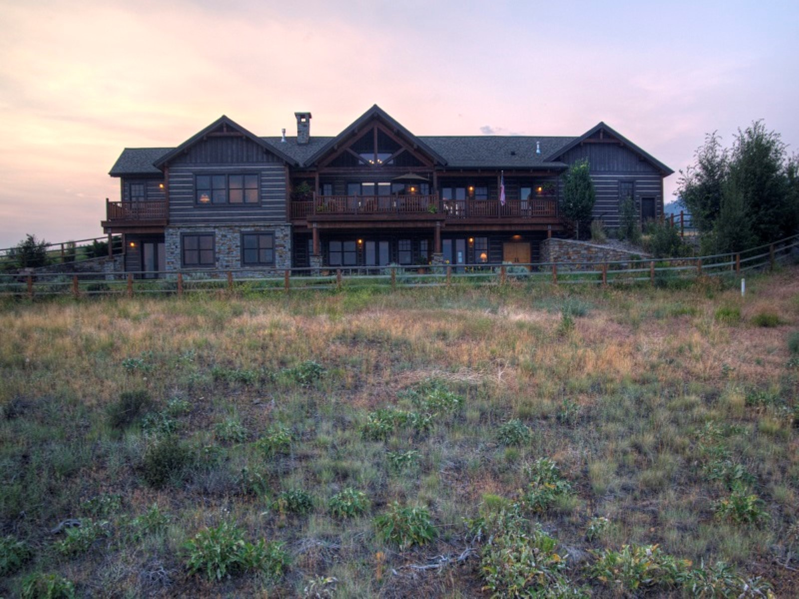 Single Family Home for Sale at Sapphire Ridge Ranch 2062 Hawks Peak Drive Florence, Montana 59833 United States