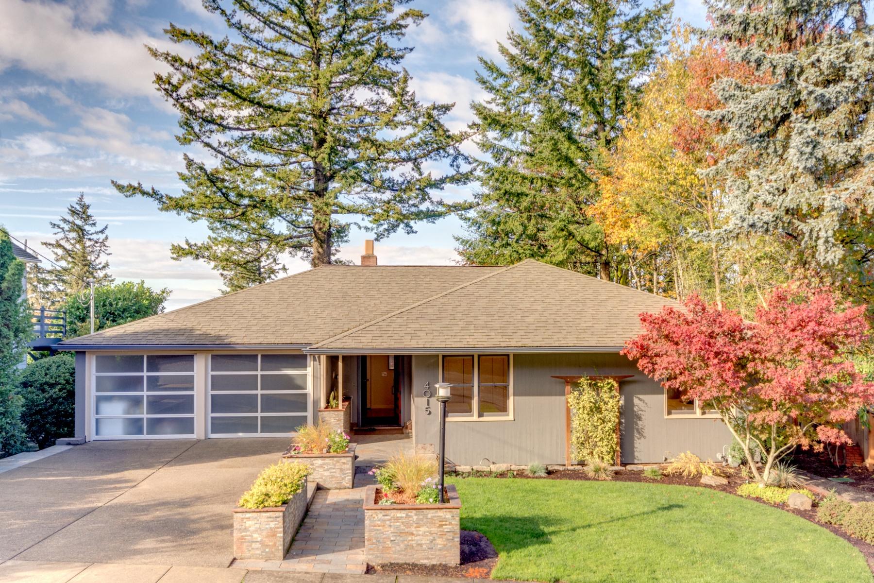 独户住宅 为 销售 在 Magnificent Council Crest 4015 SW COUNCIL CREST Dr 波特兰, 俄勒冈州, 97239 美国
