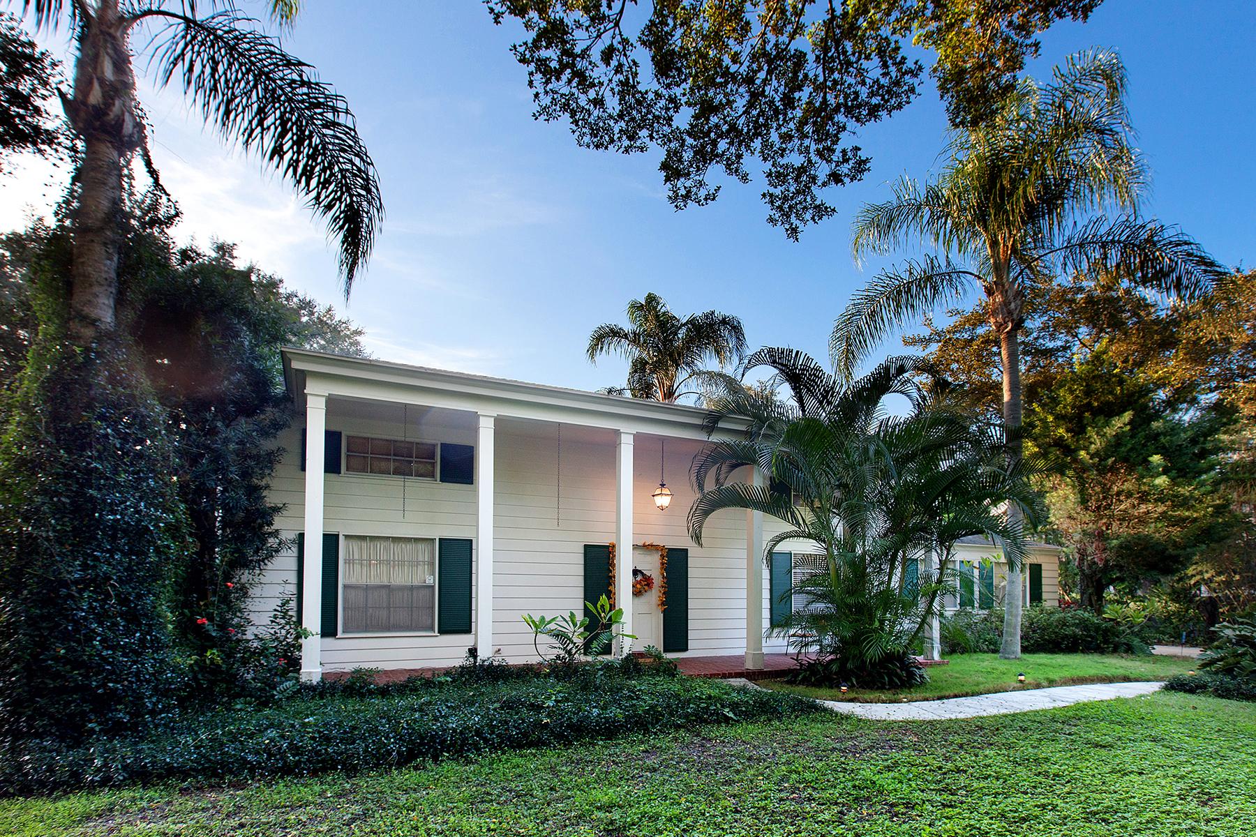 Single Family Home for Sale at SARASOTA, FL 1600 N Lodge Dr Sarasota, Florida 34239 United States