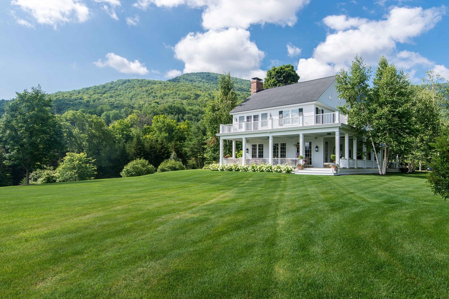 Casa Unifamiliar por un Venta en High View 1150 114 Nichols Hill Rd Dorset, Vermont 05251 Estados Unidos