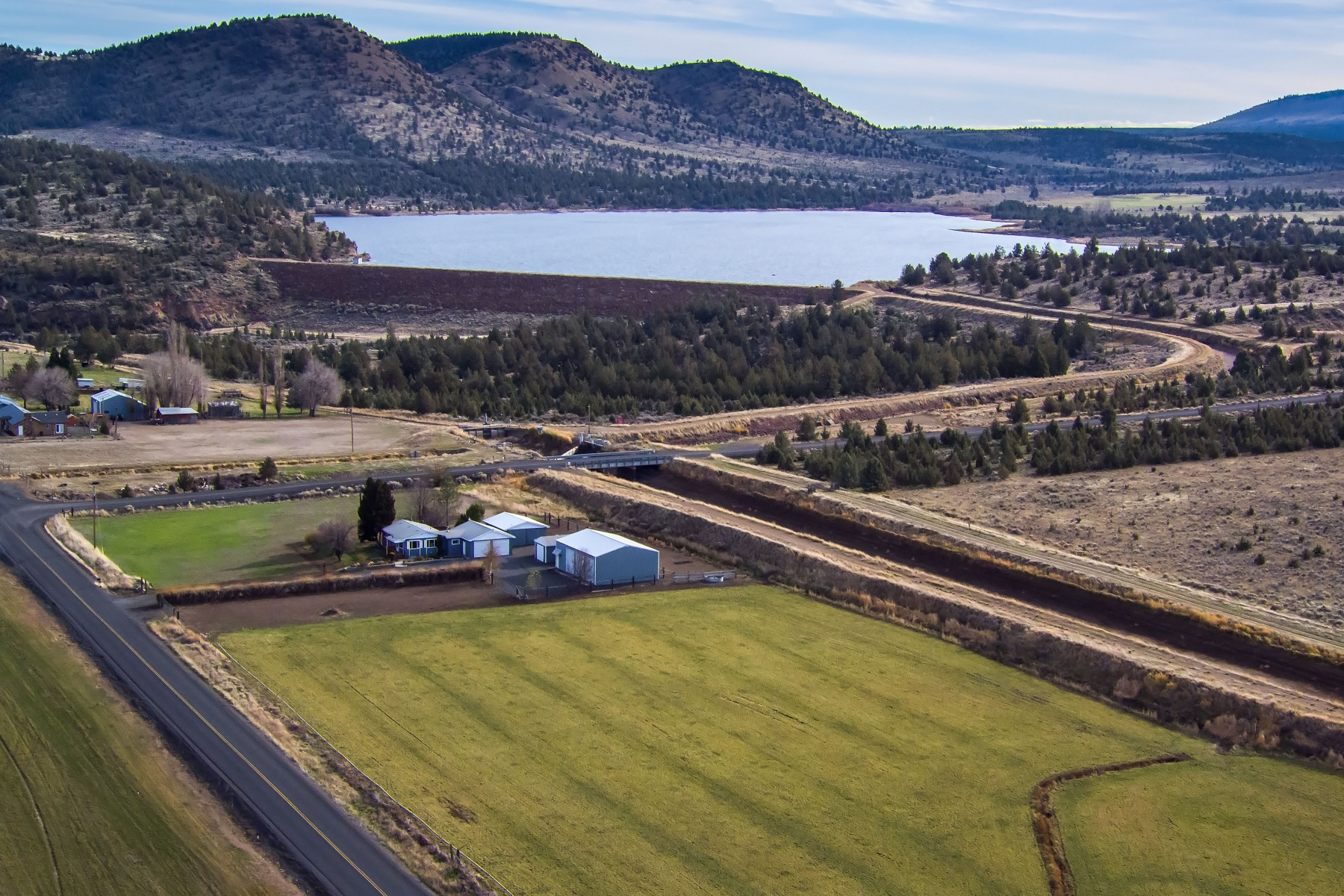 Single Family Home for Sale at Culver Home on Acreage 1691 SE Jericho Ln Culver, Oregon, 97734 United States