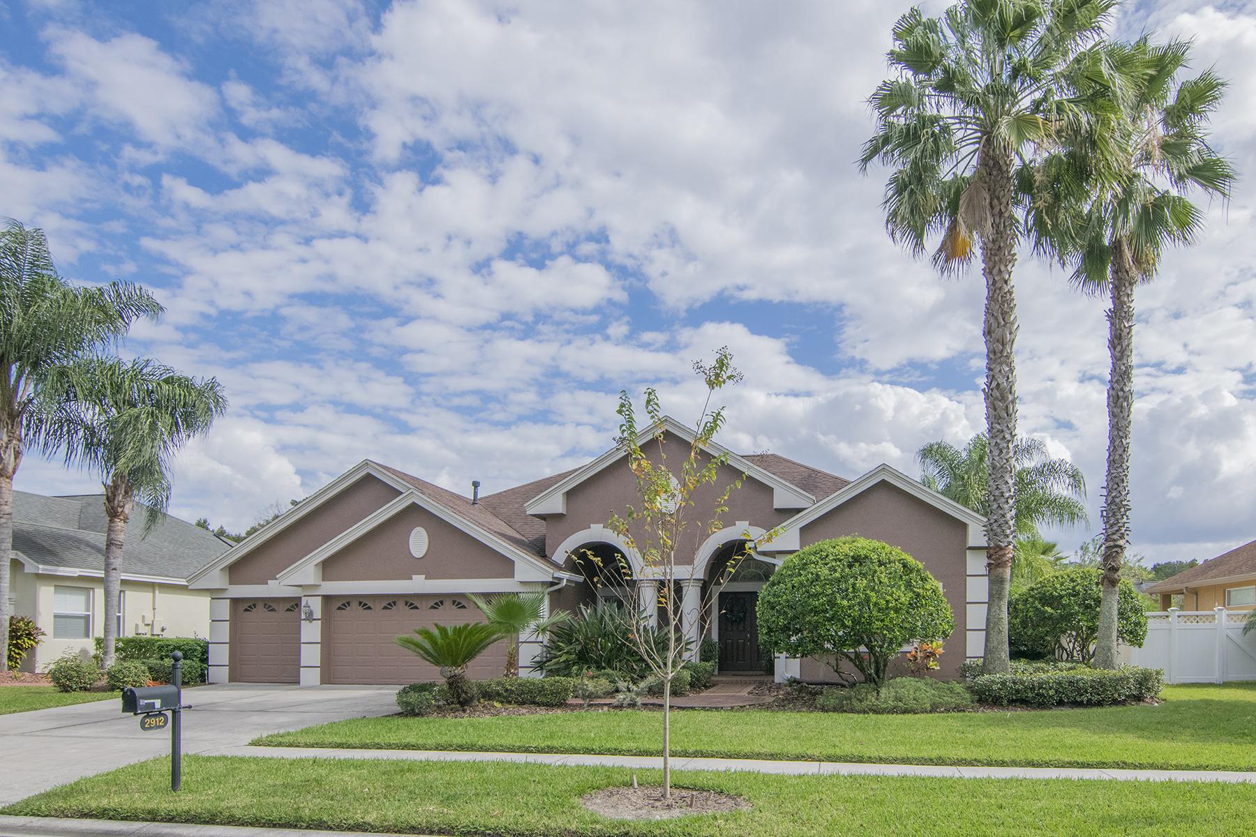 Maison unifamiliale pour l Vente à WESLEY CHAPEL 2912 Big Cypress Way Wesley Chapel, Florida, 33544 États-Unis