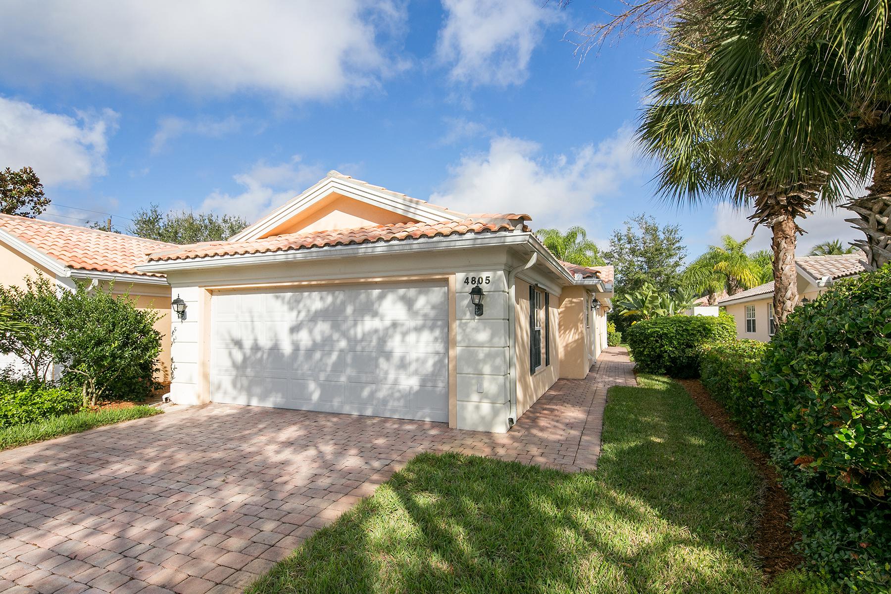 联栋屋 为 销售 在 ISLAND WALK 4805 Lasqueti Way 那不勒斯, 佛罗里达州, 34119 美国