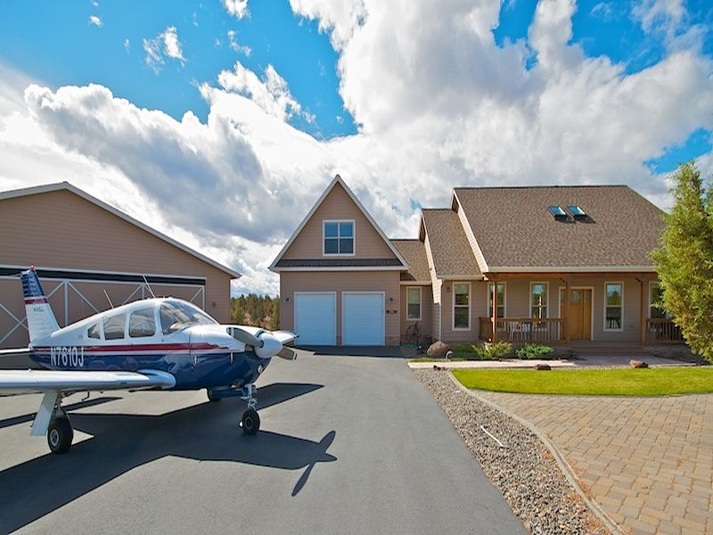 sales property at Dry Creek Airpark