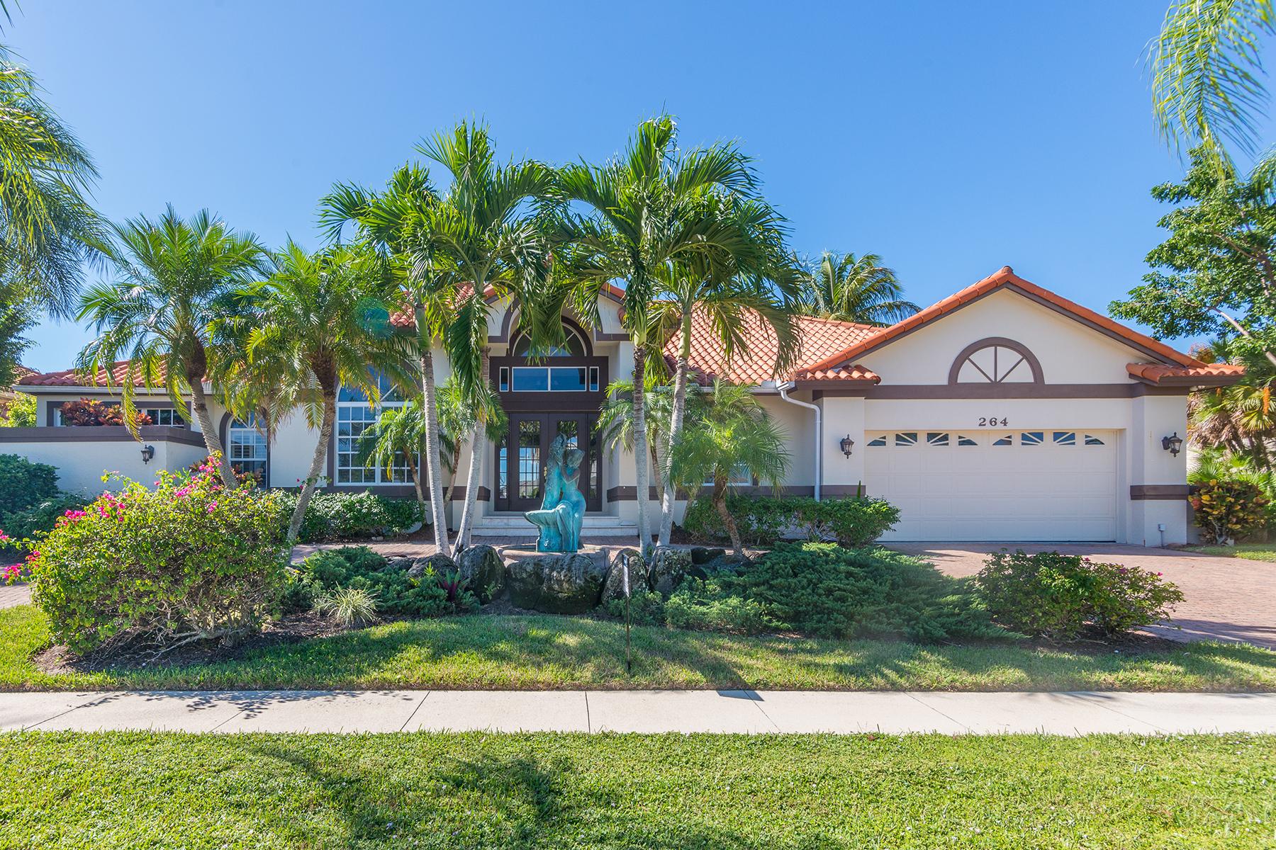獨棟家庭住宅 為 出售 在 MARCO ISLAND - ROCKHILL COURT 264 Rockhill Ct Marco Island, 佛羅里達州 34145 美國