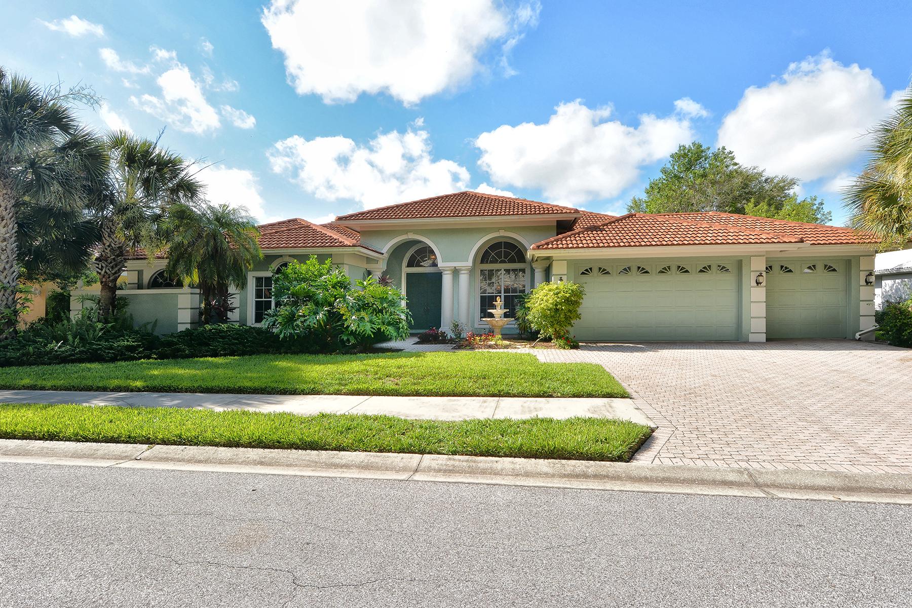 Частный односемейный дом для того Продажа на DEER CREEK 8575 Woodbriar Dr Sarasota, Флорида 34238 Соединенные Штаты