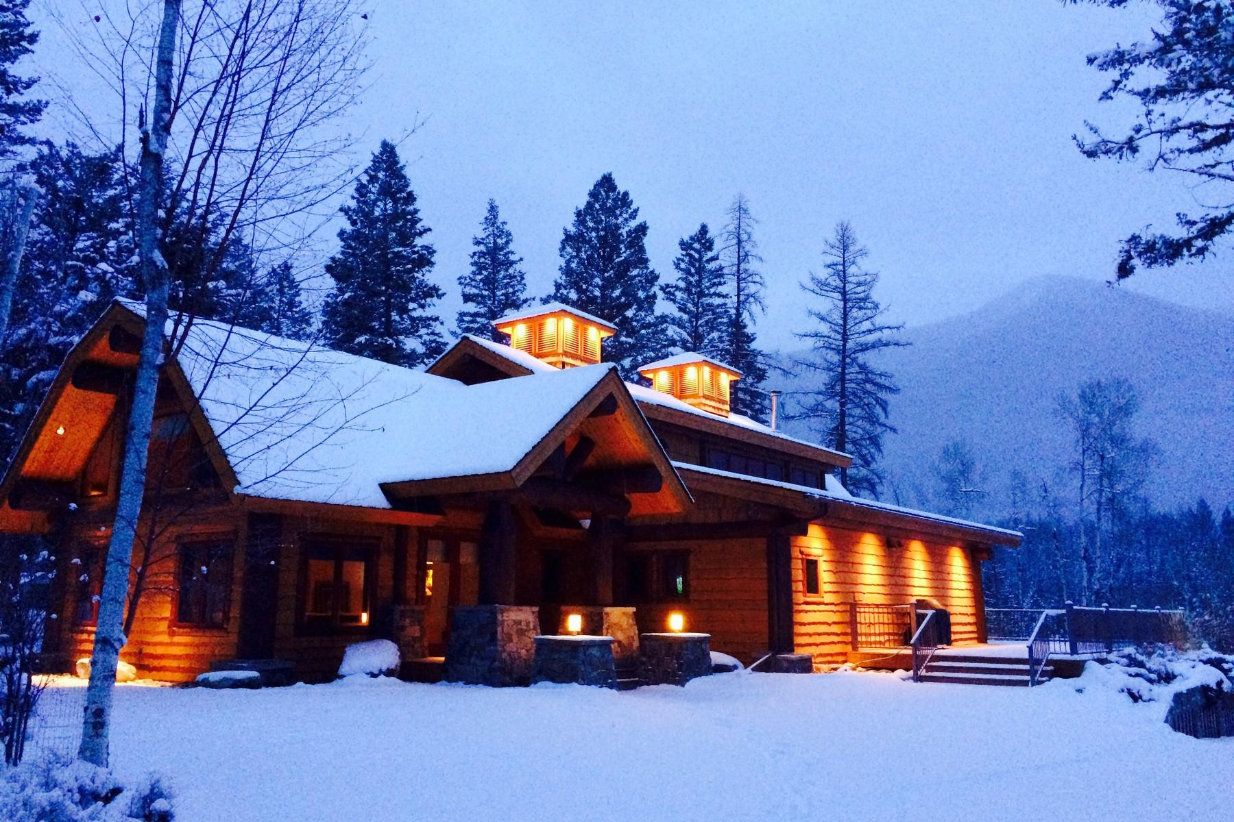 Casa para uma família para Venda às Montana Luxury Retreat Eureka, Montana, 59917 Estados Unidos
