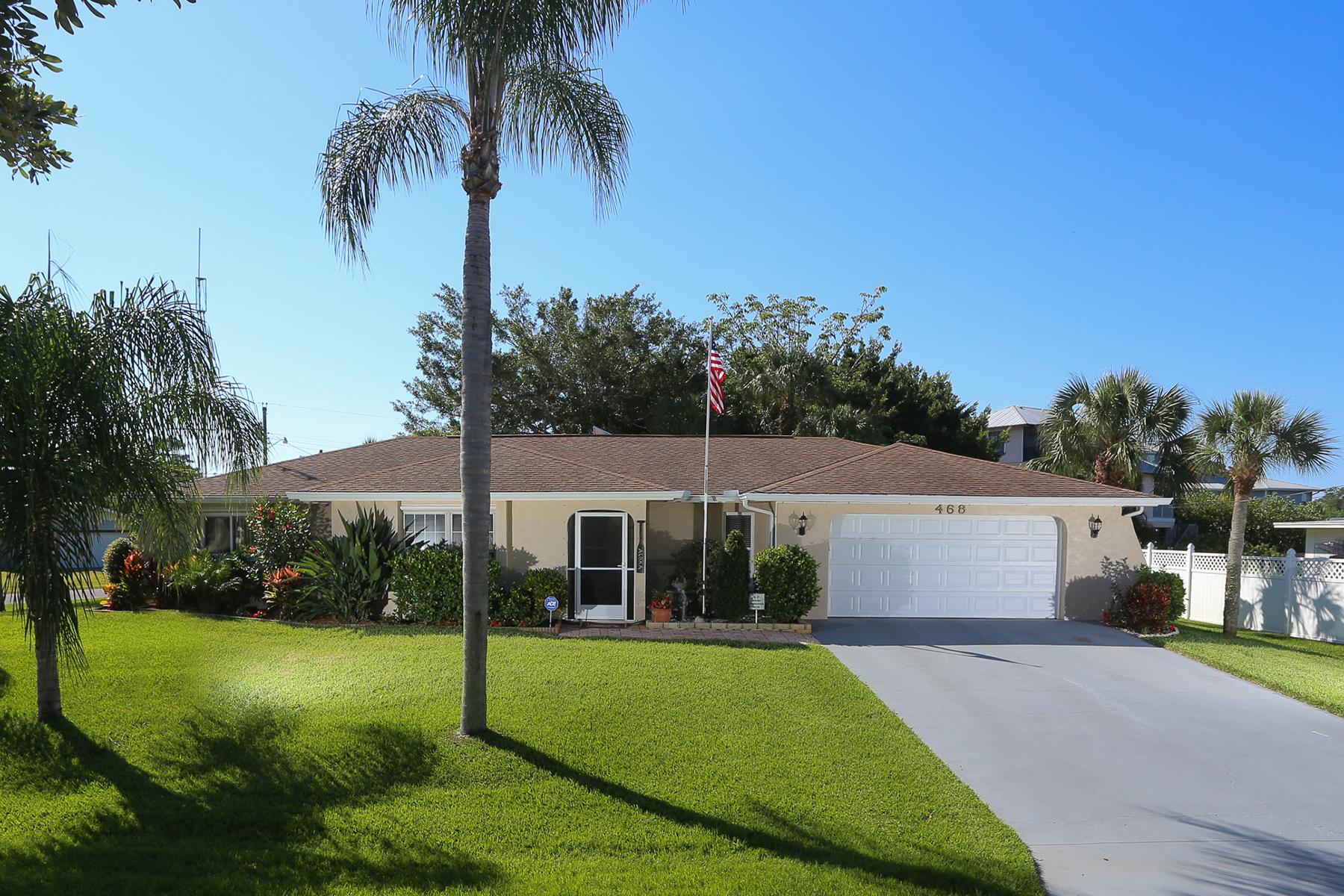Einfamilienhaus für Verkauf beim DONA BAY SHORES 468 Ceil Dr Nokomis, Florida 34275 Vereinigte Staaten