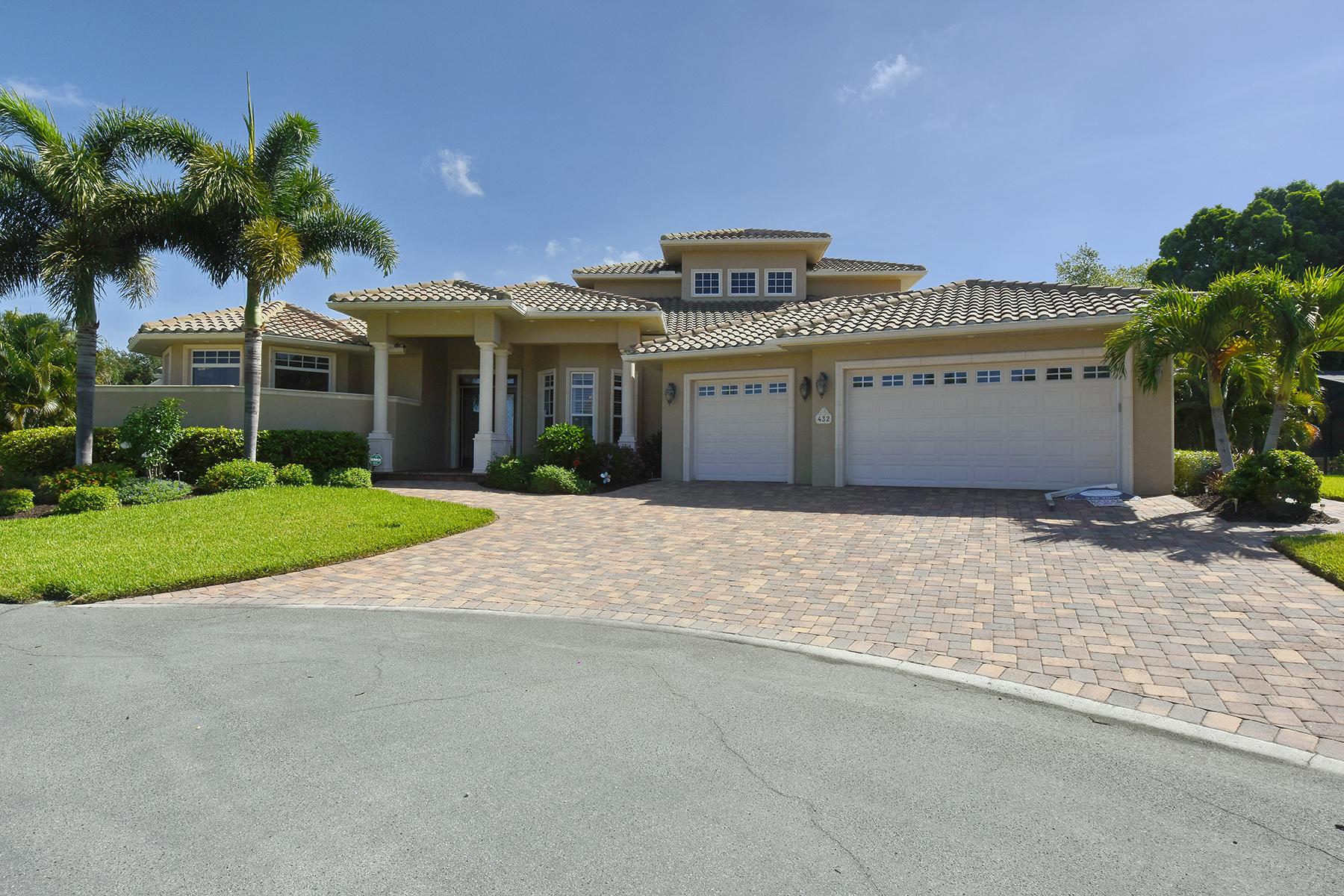 Maison unifamiliale pour l Vente à SORRENTO SHORES 432 Sorrento Dr Osprey, Florida 34229 États-Unis