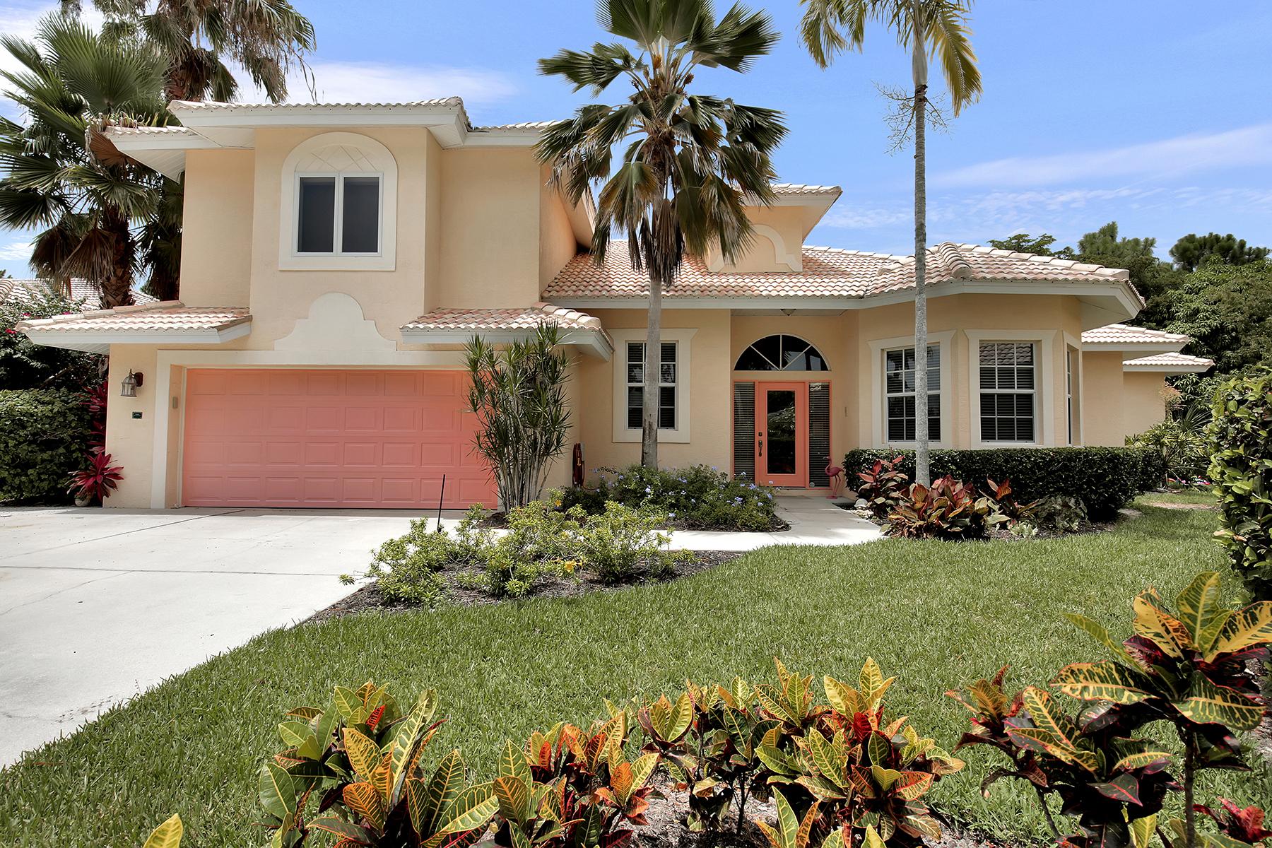 独户住宅 为 销售 在 CASA DEL VIDA 657 Soliel Dr Naples, 佛罗里达州 34110 美国