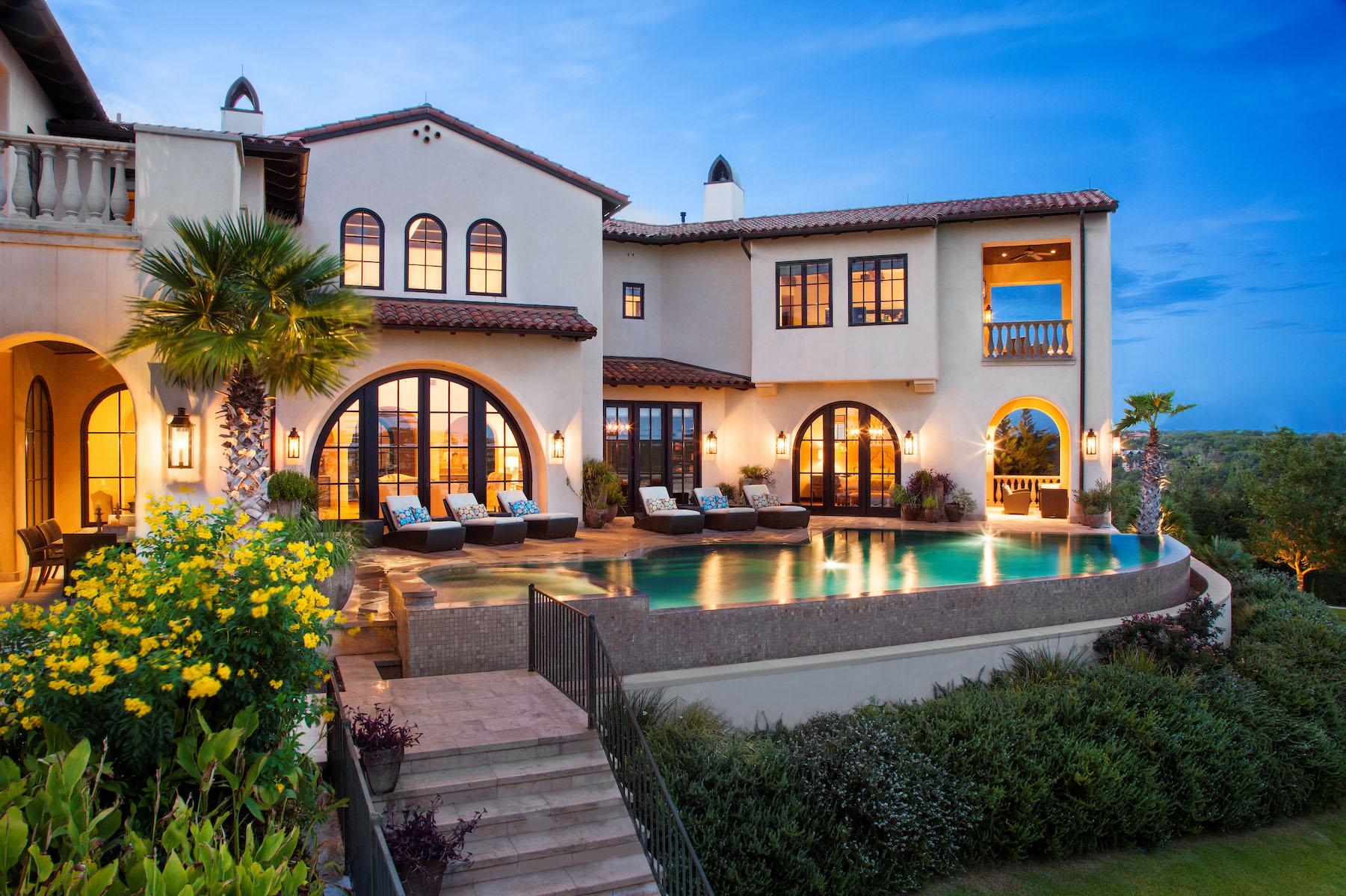 Single Family Home for Sale at Villa La Isla 19700 La Isla Cv Spicewood, Texas 78669 United States