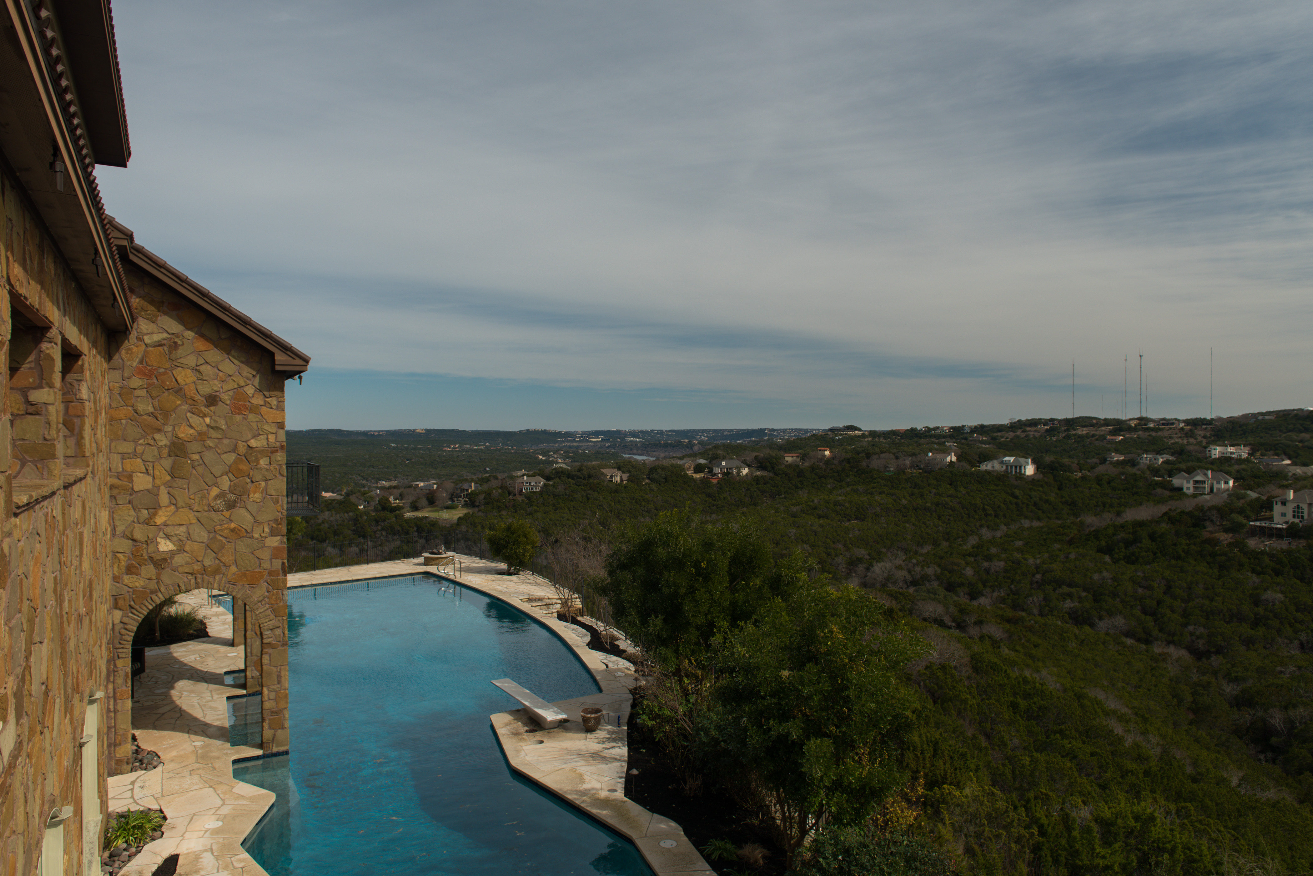 Single Family Home for Sale at Exquisite Estate with Lake Austin Views 101 S Lowell Ln Austin, Texas, 78733 United States