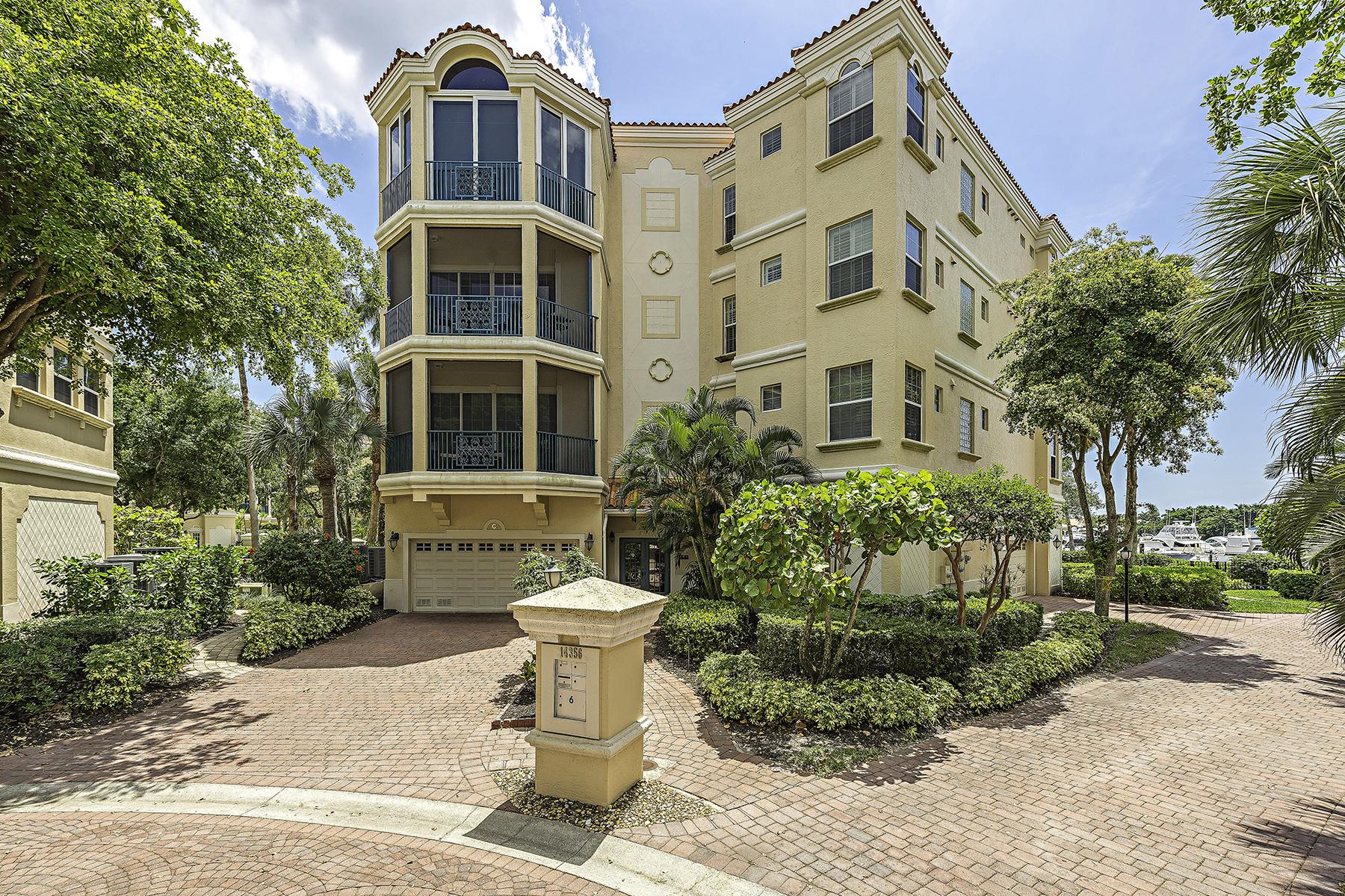 콘도미니엄 용 매매 에 HARBOUR LANDINGS 14356 Harbour Landings Dr 6B Fort Myers, 플로리다, 33908 미국
