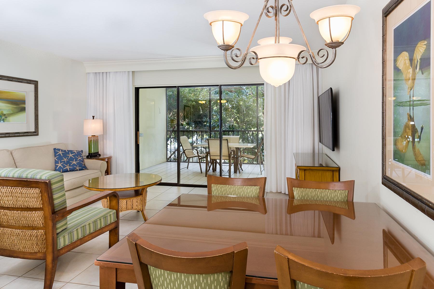 Кондоминиум для того Продажа на CAPTIVA 3125 Tennis Villas Captiva, Флорида, 33924 Соединенные Штаты