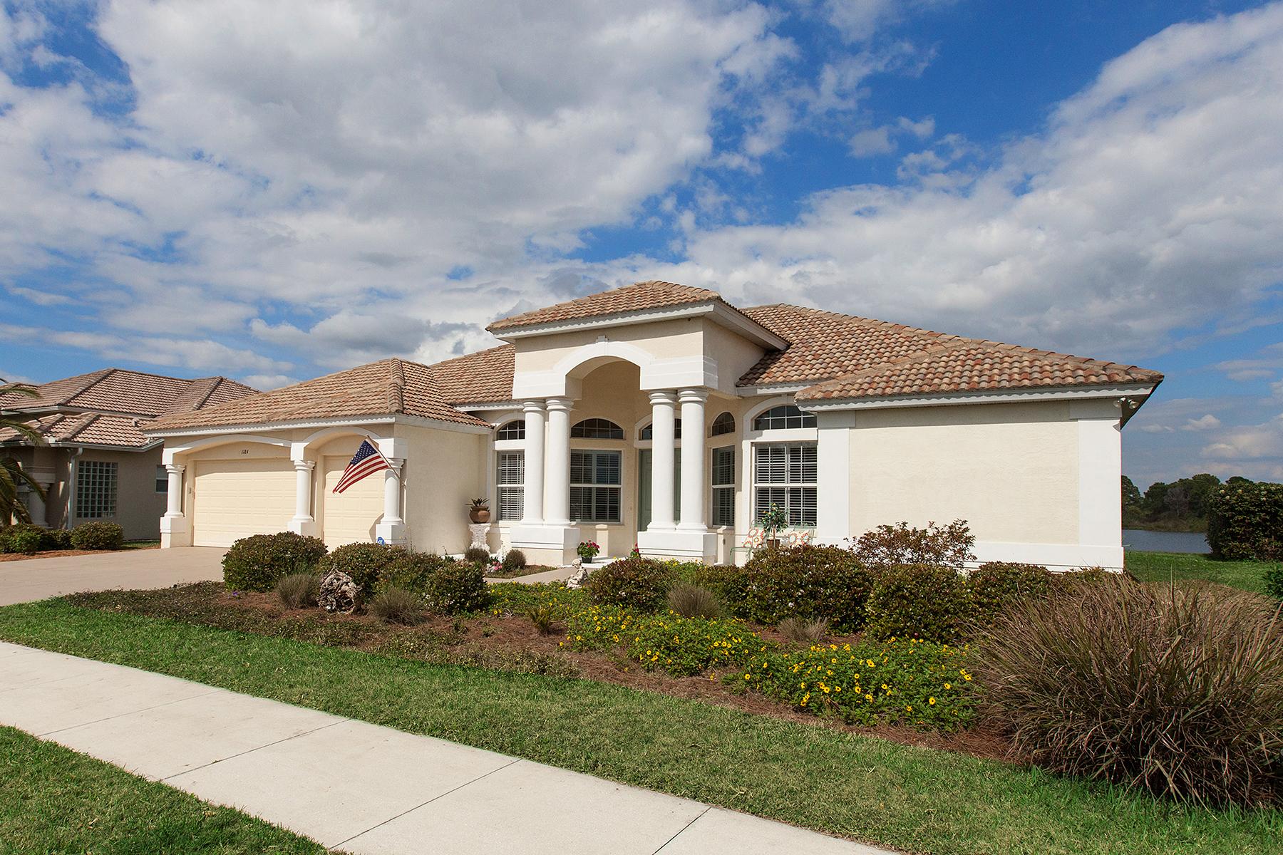 Частный односемейный дом для того Продажа на OSPREY 1184 Mallard Marsh Dr Osprey, Флорида 34229 Соединенные Штаты