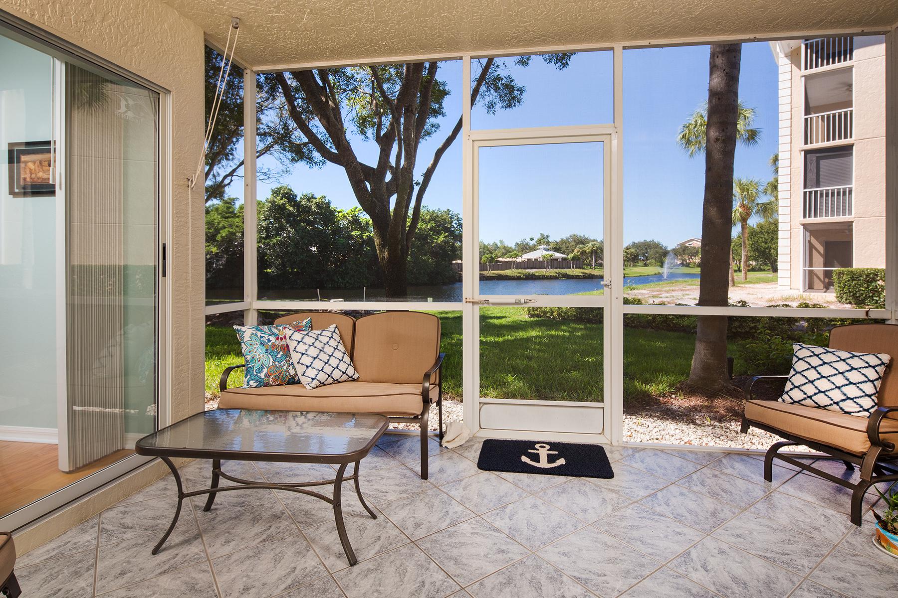 Kat Mülkiyeti için Satış at WIGGINS BAY - BERMUDA COVE 575 Club Side Dr 4-103 Naples, Florida, 34110 Amerika Birleşik Devletleri