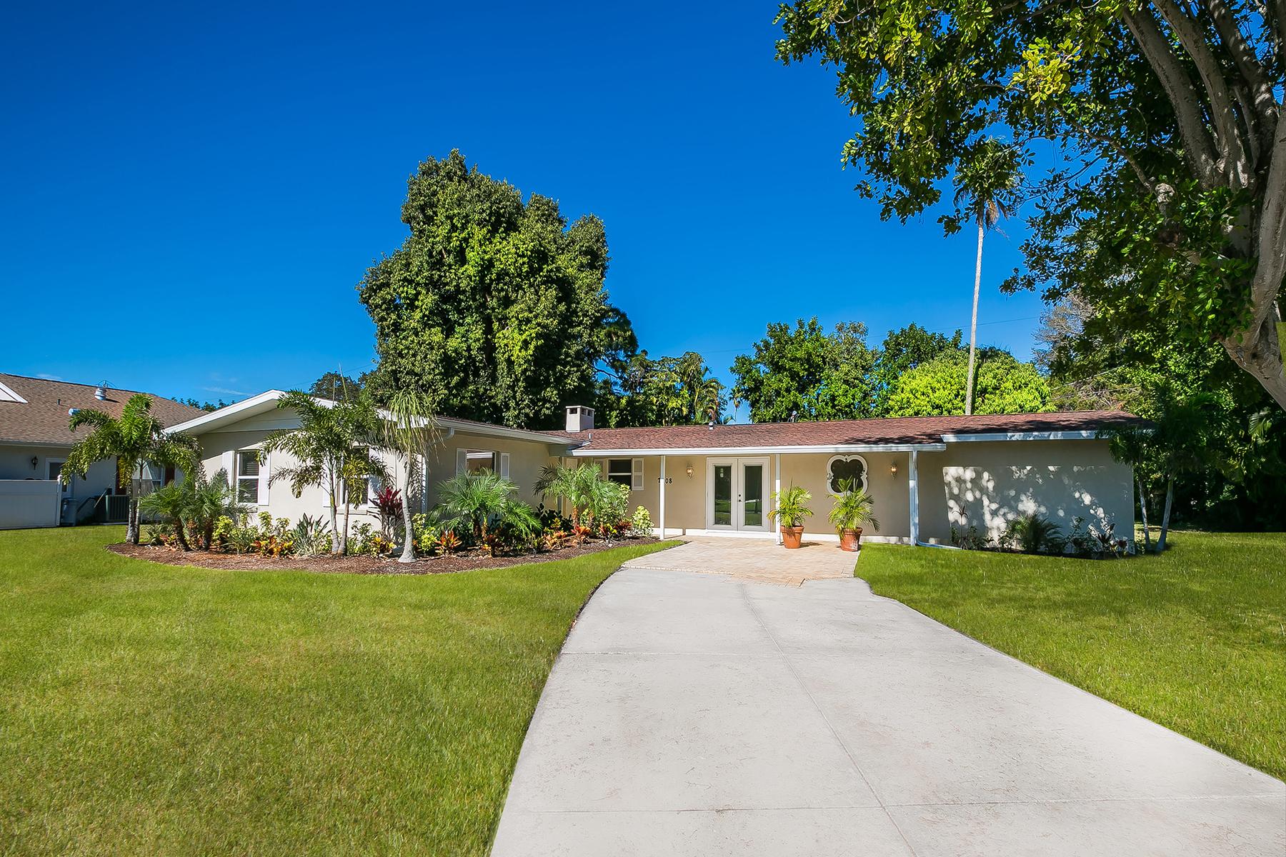 단독 가정 주택 용 매매 에 PALMA SOLA PARK 7608 The Plaza Bradenton, 플로리다, 34209 미국