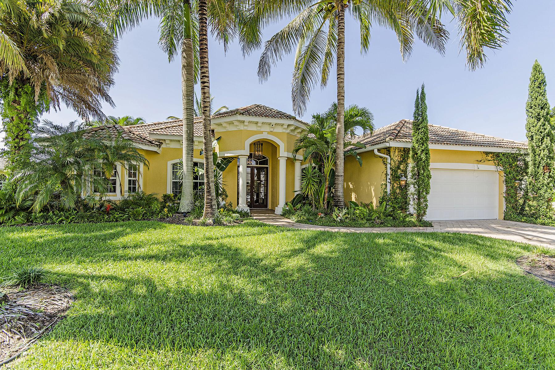 Maison unifamiliale pour l Vente à SPANISH WELLS 28468 Del Lago Way Bonita Springs, Florida 34135 États-Unis