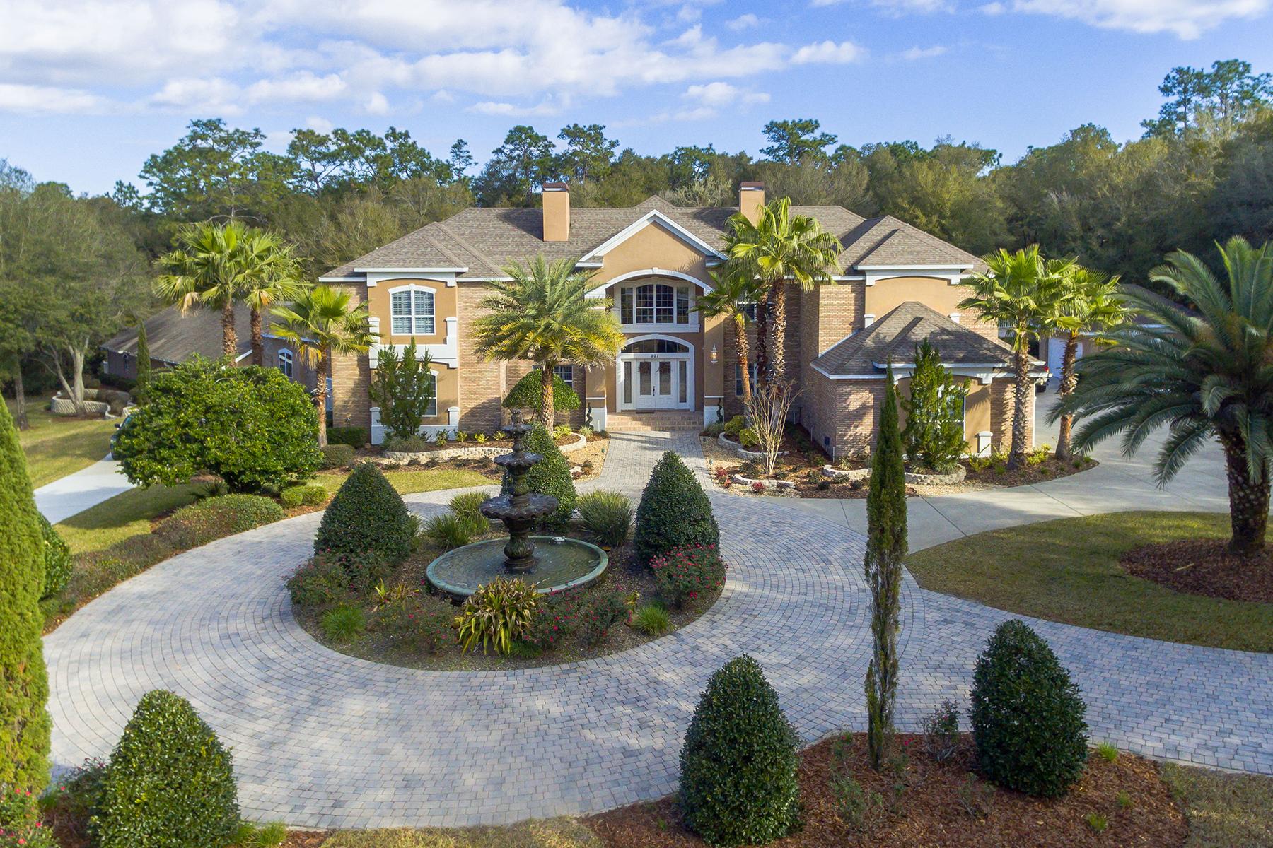 Maison unifamiliale pour l Vente à DELAND 901 Lincoln Rd Deland, Florida, 32724 États-Unis