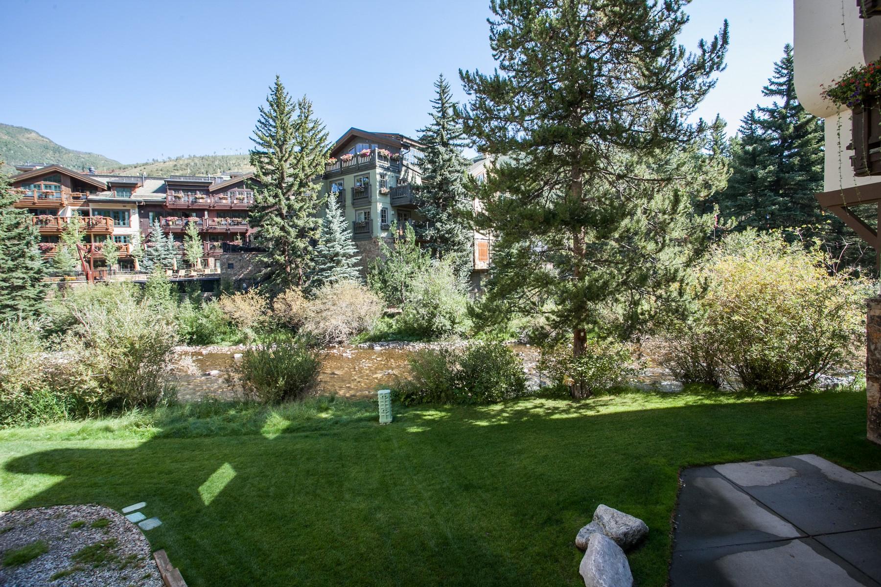 Condomínio para Venda às Riverhouse #1 83 Willow Pl 1 Vail, Colorado 81657 Estados Unidos