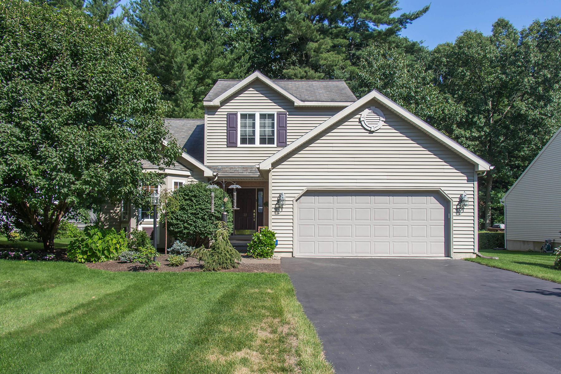 Частный односемейный дом для того Продажа на Summer Wind 22 Waterview Dr Saratoga Springs, Нью-Йорк 12866 Соединенные Штаты