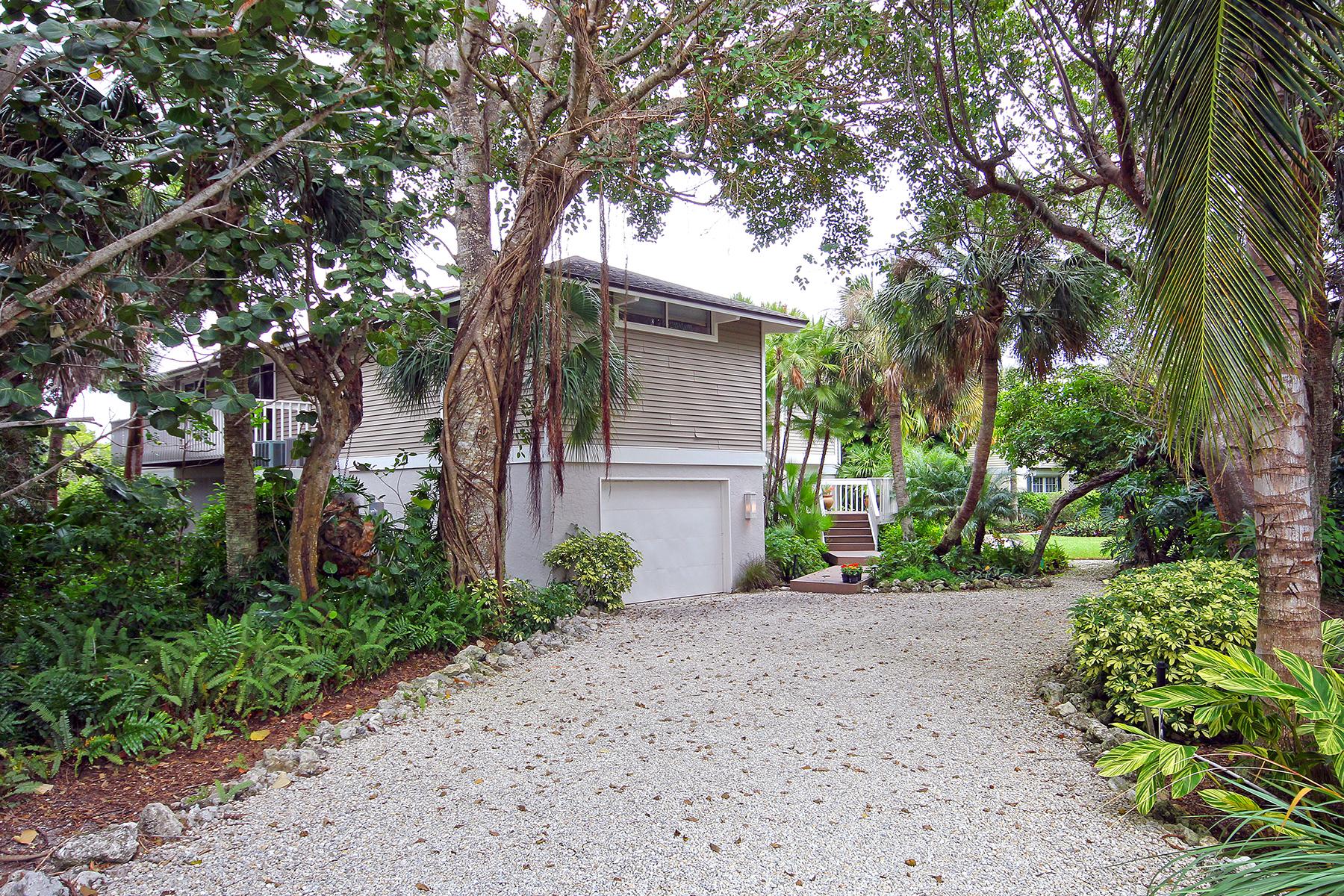 Maison unifamiliale pour l Vente à Herons Landing II 5406 Osprey Ct Sanibel, Florida 33957 États-Unis