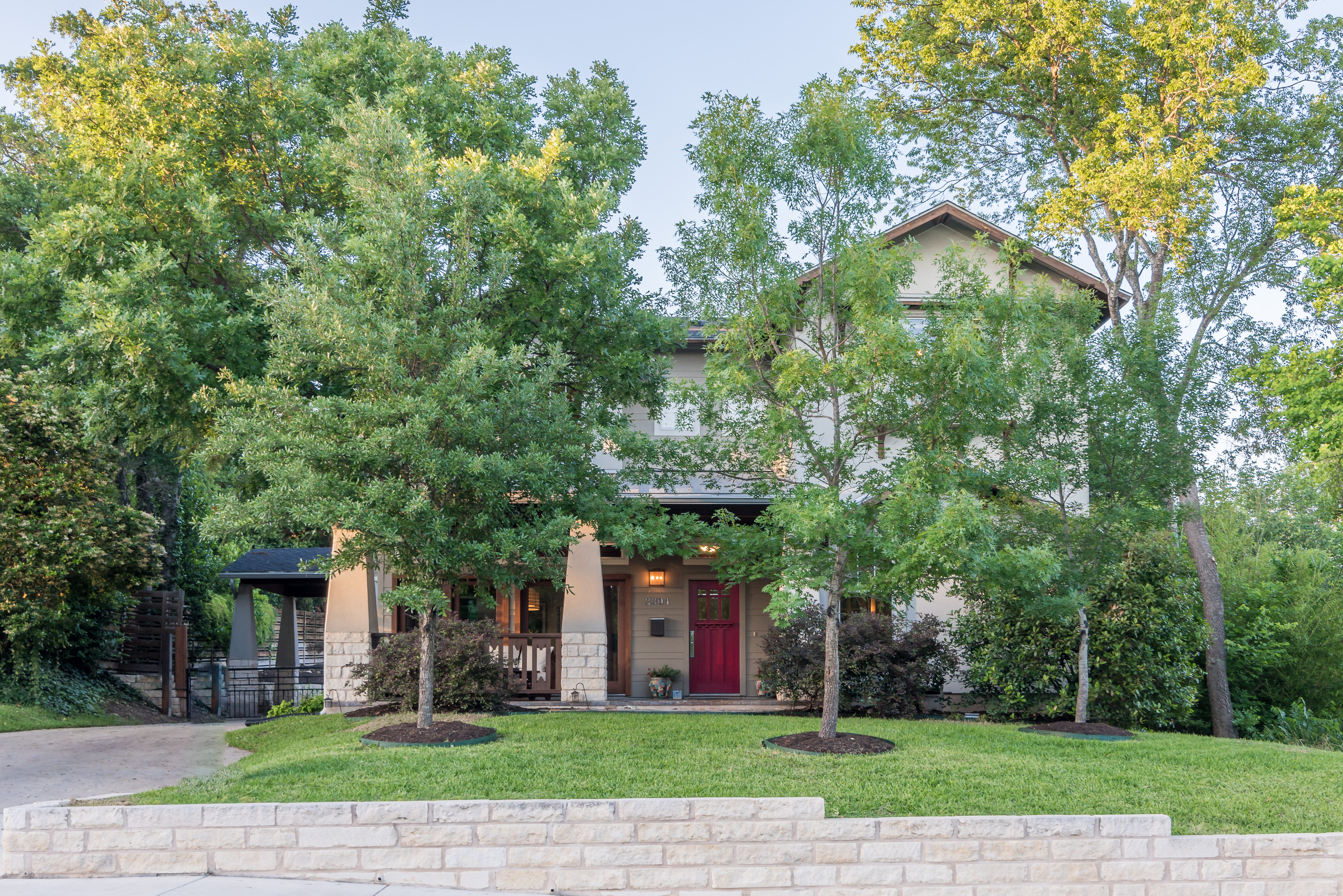 Single Family Home for Sale at Craftsman Inspired Home 2304 Westover Rd Austin, Texas 78703 United States