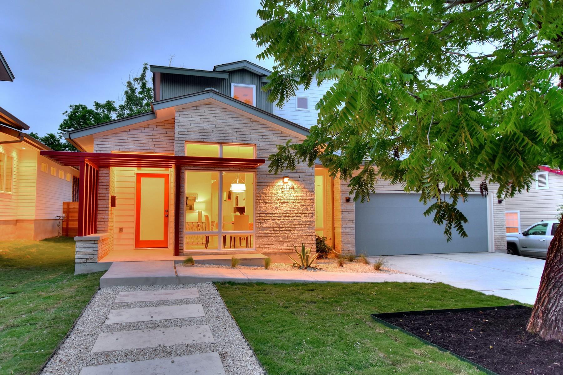 Nhà ở một gia đình vì Bán tại New Construction in the Heart of Zilker 1804 Frazier Ave Austin, Texas, 78704 Hoa Kỳ