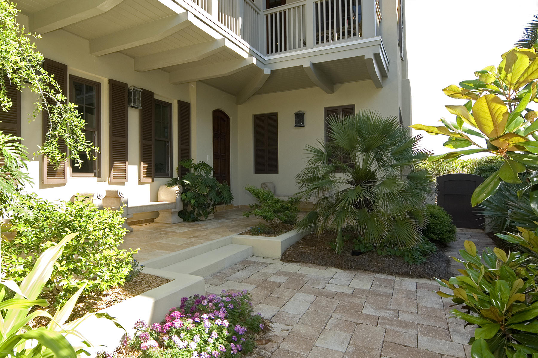 Single Family Home for Sale at RELAXED ATMOSPHERE OF UPSCALE LUXURY 152 E Saint Lucia Lane Santa Rosa Beach, Florida, 32459 United States