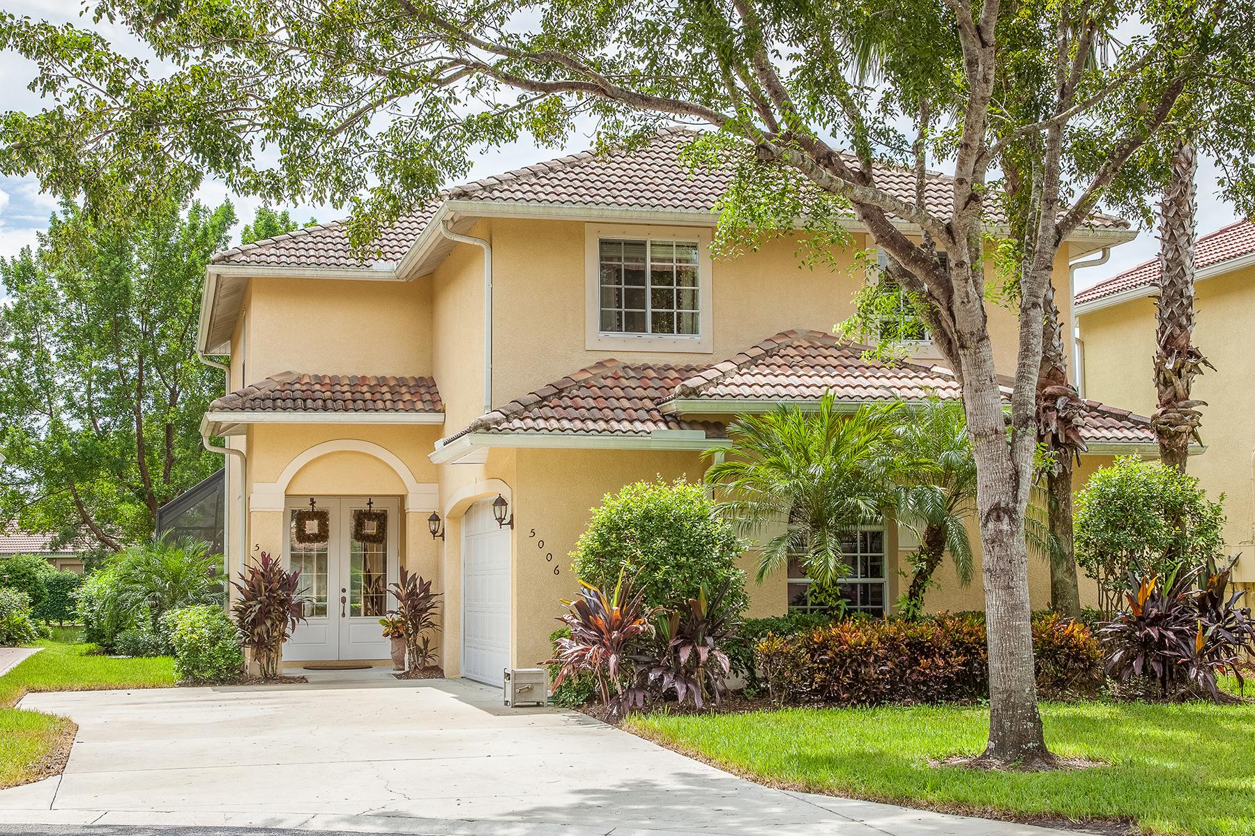 Tek Ailelik Ev için Satış at WILSHIRE LAKES 5006 Fairhaven Ln Naples, Florida, 34109 Amerika Birleşik Devletleri
