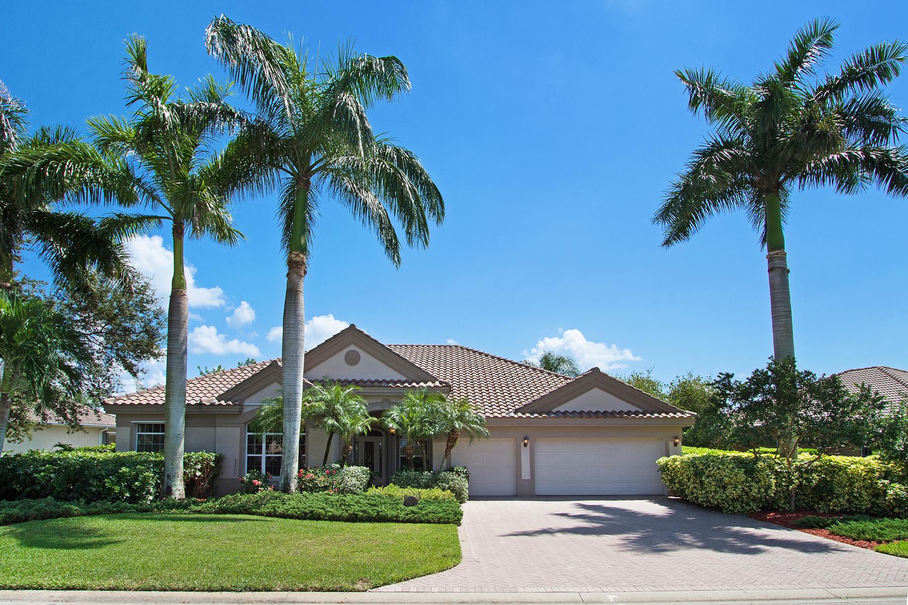 Maison unifamiliale pour l Vente à LONGSHORE LAKE 10892 Phoenix Way Naples, Florida, 34119 États-Unis