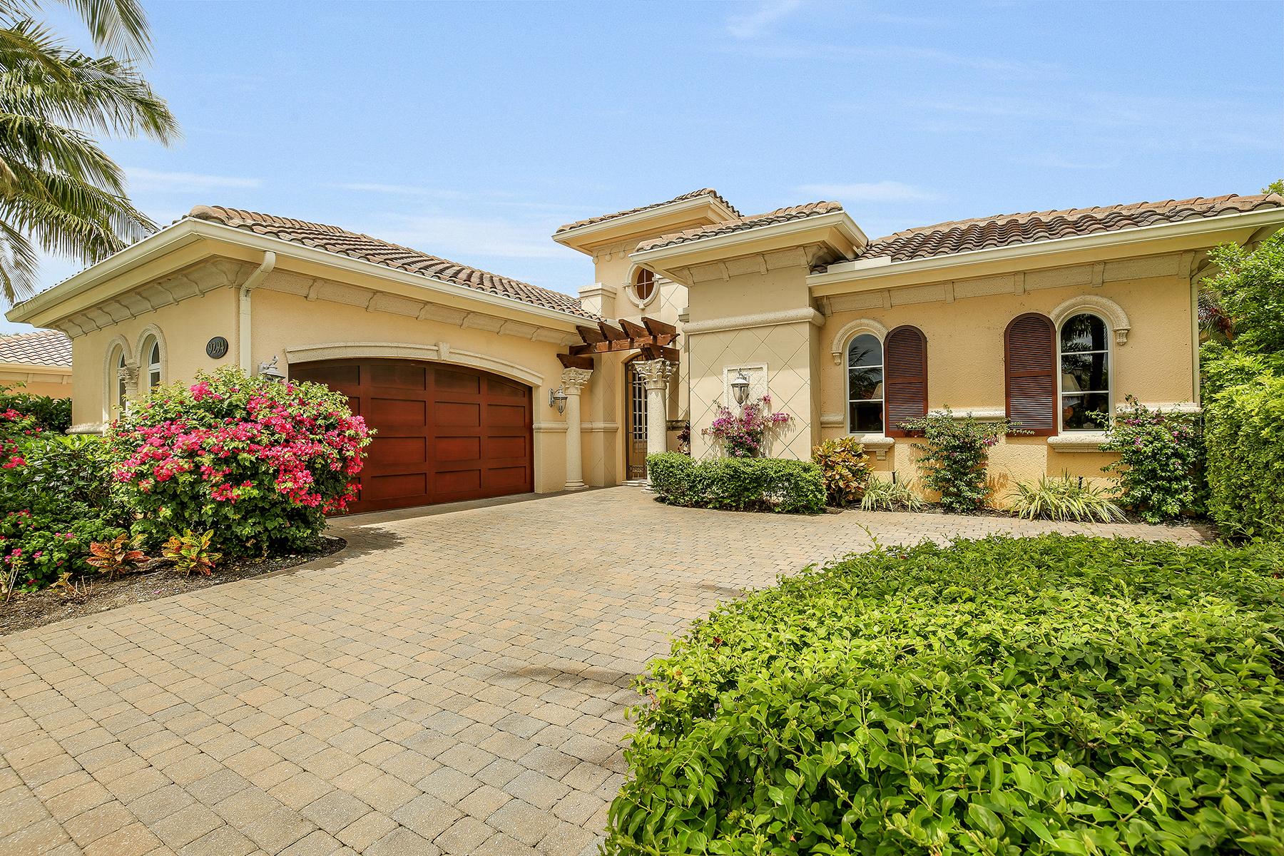 Casa para uma família para Venda às FIDDLER'S CREEK - CHIASSO 9294 Chiasso Cove Ct Naples, Florida, 34114 Estados Unidos