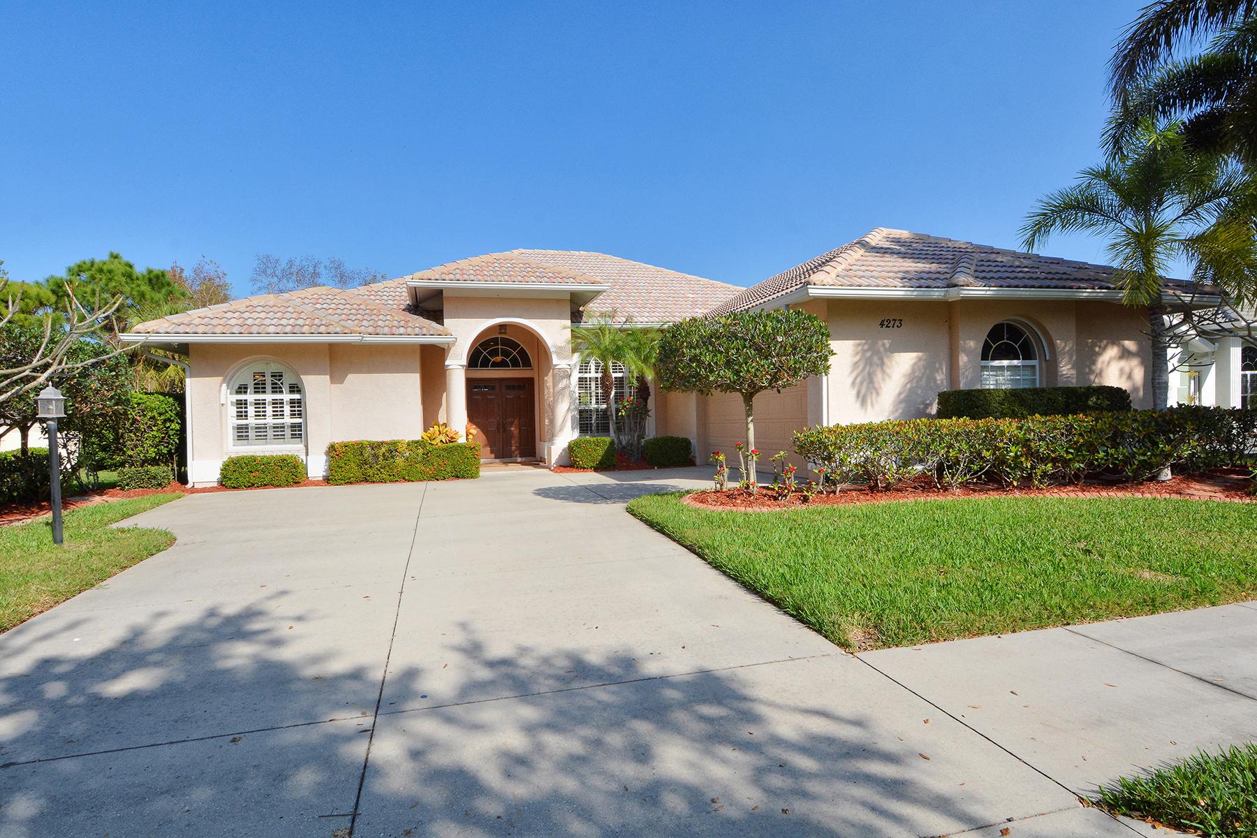 Single Family Home for Sale at VENETIA 4273 Via Del Villetti Dr Venice, Florida, 34293 United States