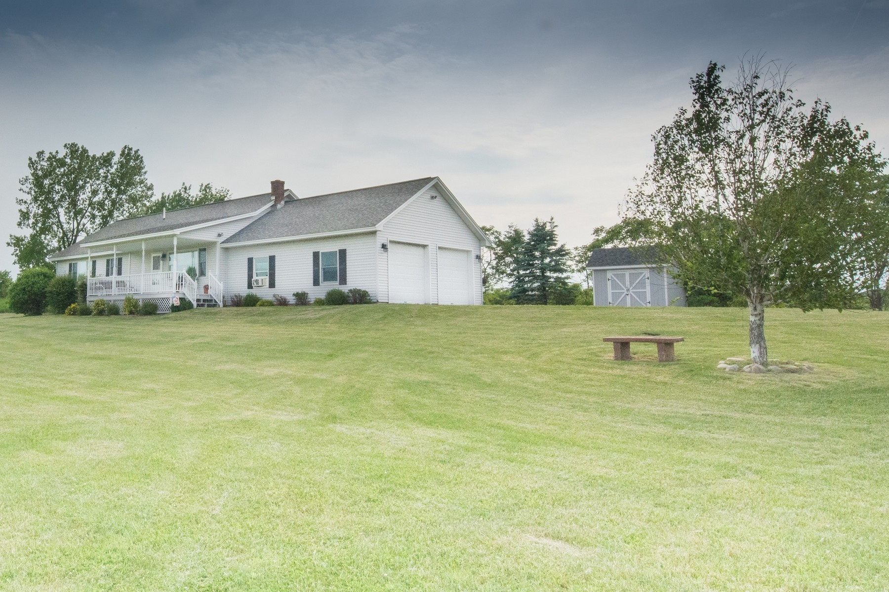Single Family Home for Sale at Fly-In Home in Beautiful Washington County 5290 State Route 40 Argyle, New York 12809 United States