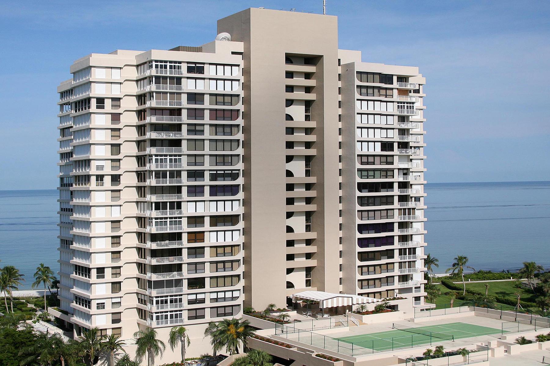 共管物業 為 出售 在 Naples 4301 Gulf Shore Blvd N 1400 Naples, 佛羅里達州, 34103 美國