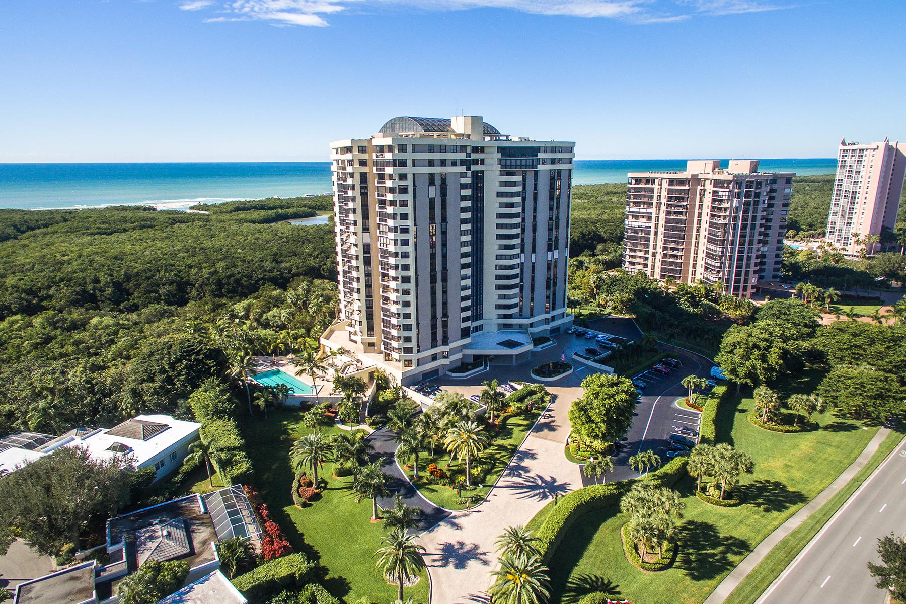 Kat Mülkiyeti için Satış at PELICAN BAY - GROSVENOR 6001 Pelican Bay Blvd 1504 Naples, Florida, 34108 Amerika Birleşik Devletleri