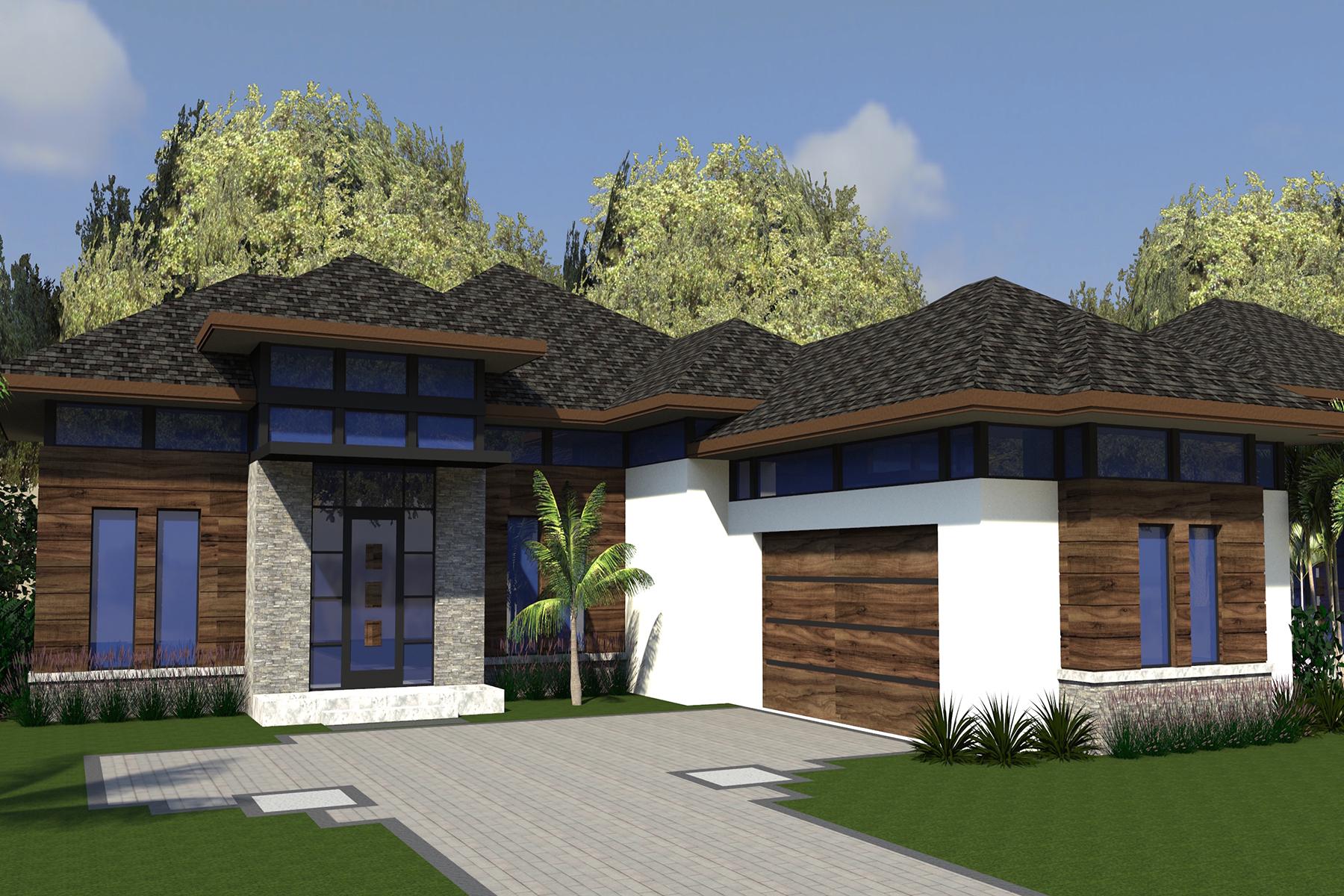 Maison unifamiliale pour l Vente à LEGACY ESTATES 598 Lakeland Ave Lot 11 Naples, Florida, 34110 États-Unis