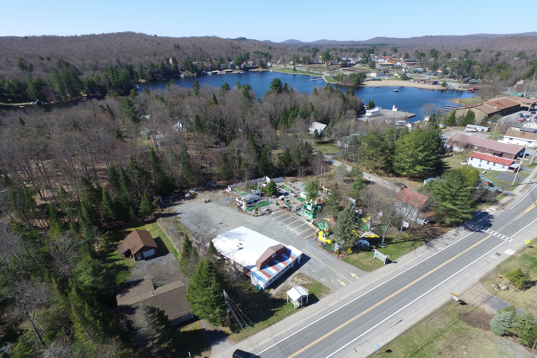 Additional photo for property listing at Mixed-Use Property in Adirondack Park 3230  Nys Route 28 Old Forge, New York 13420 United States