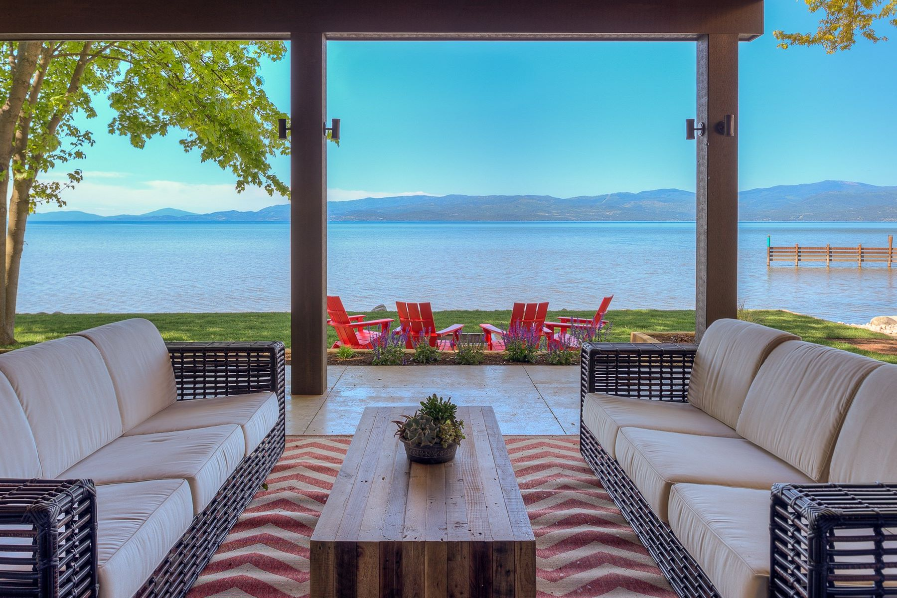Single Family Home for Sale at Flathead Lake Contemporary 62 Rivers Bigfork, Montana, 59911 United States