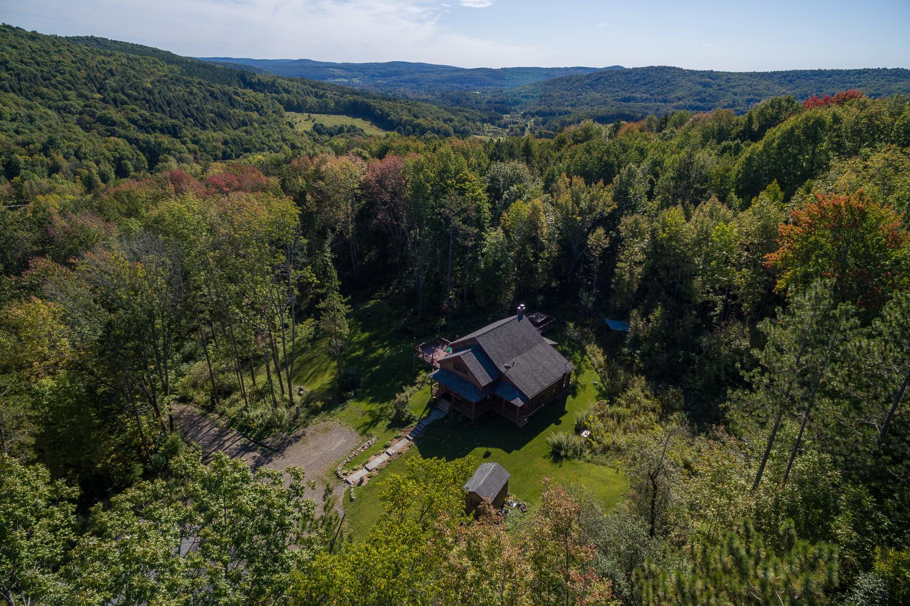 Частный односемейный дом для того Продажа на Fly Creek Jewel 311 Tripp Hill Rd. Fly Creek, Нью-Йорк 13337 Соединенные Штаты