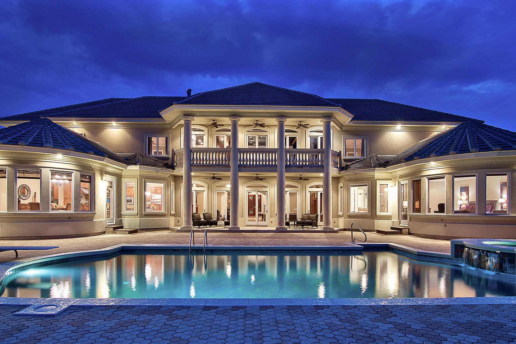 獨棟家庭住宅 為 出售 在 MAGNIFICENT WATERFRONT ESTATE 3807 Indian Trail Destin, 佛羅里達州, 32541 美國