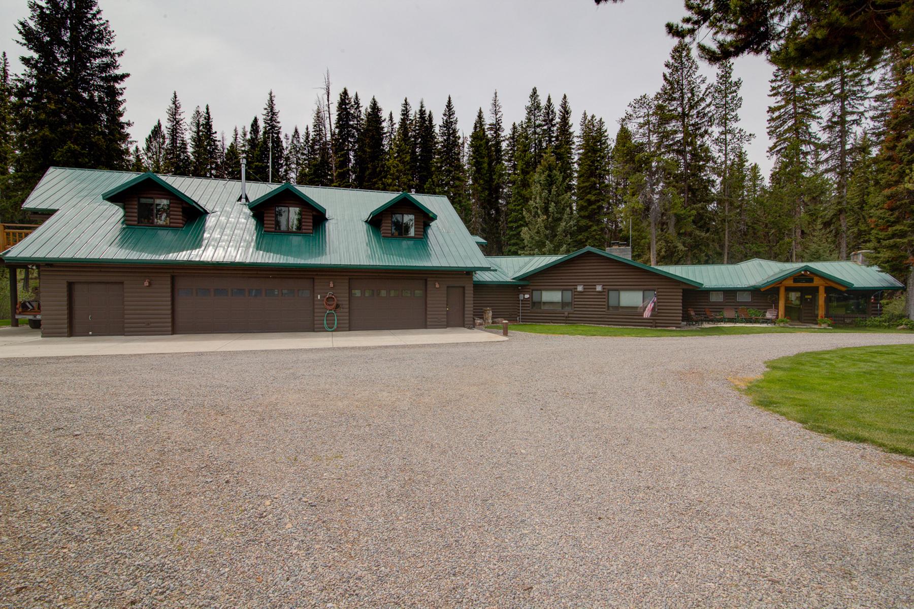 Частный односемейный дом для того Продажа на 5730 MT Hwy 279 5730 Mt Highway 279 Lincoln, Монтана, 59639 Соединенные Штаты