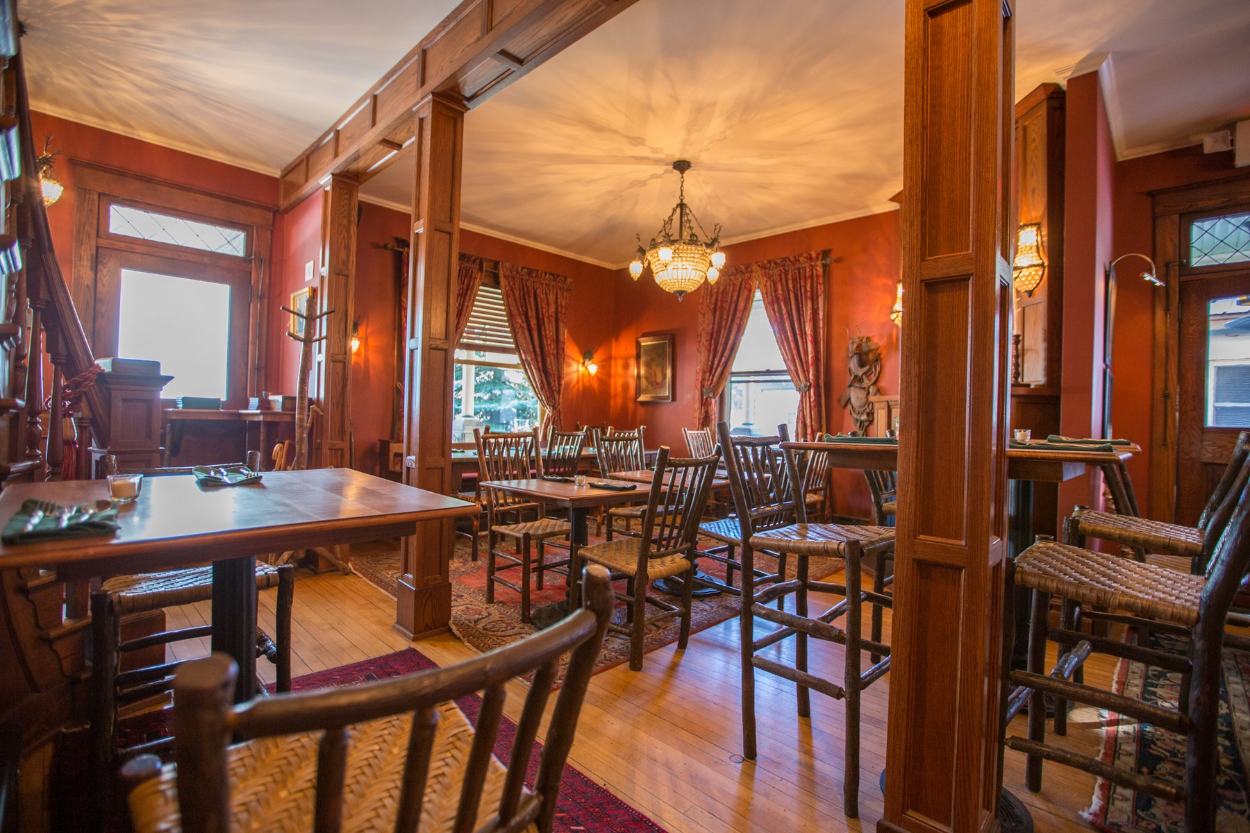 Additional photo for property listing at Gourmet Adirondack Restaurant 3046  New York 28 Old Forge, New York 13420 United States