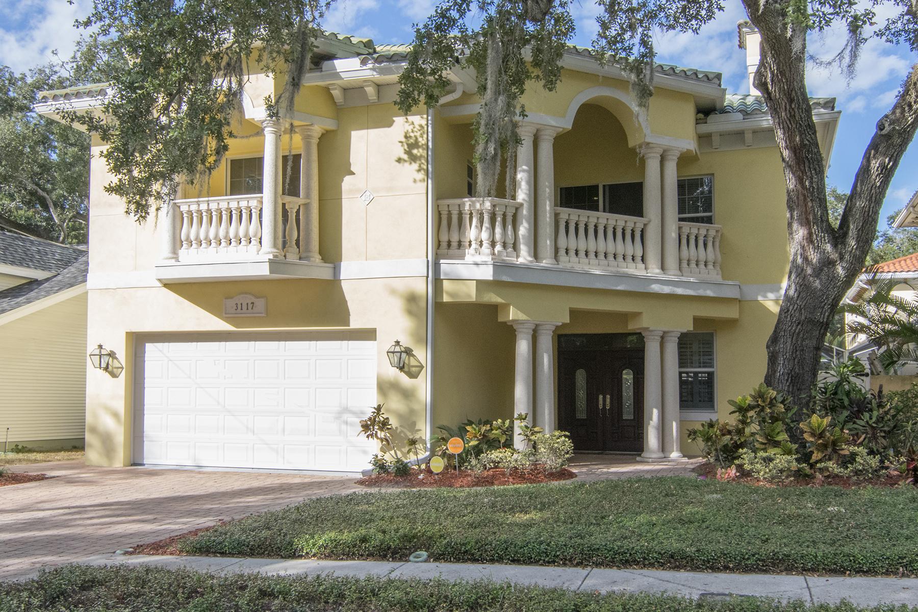 Casa Unifamiliar por un Venta en SOUTH TAMPA 3117 W Villa Rosa St Tampa, Florida, 33611 Estados Unidos